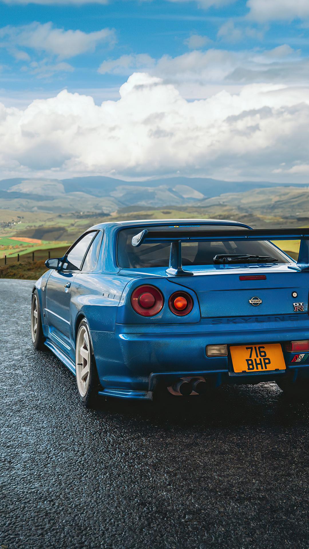 1080x1920 Nissan Skyline Gtr R34 Iphone 7,6s,6 Plus, Pixel ...