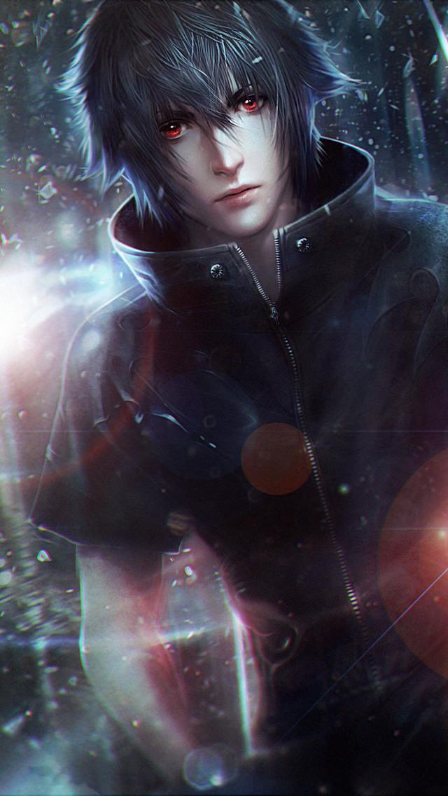 640x1136 Noctis Lucis Caelum Final Fantasy Xv Artwork Iphone 5 5c