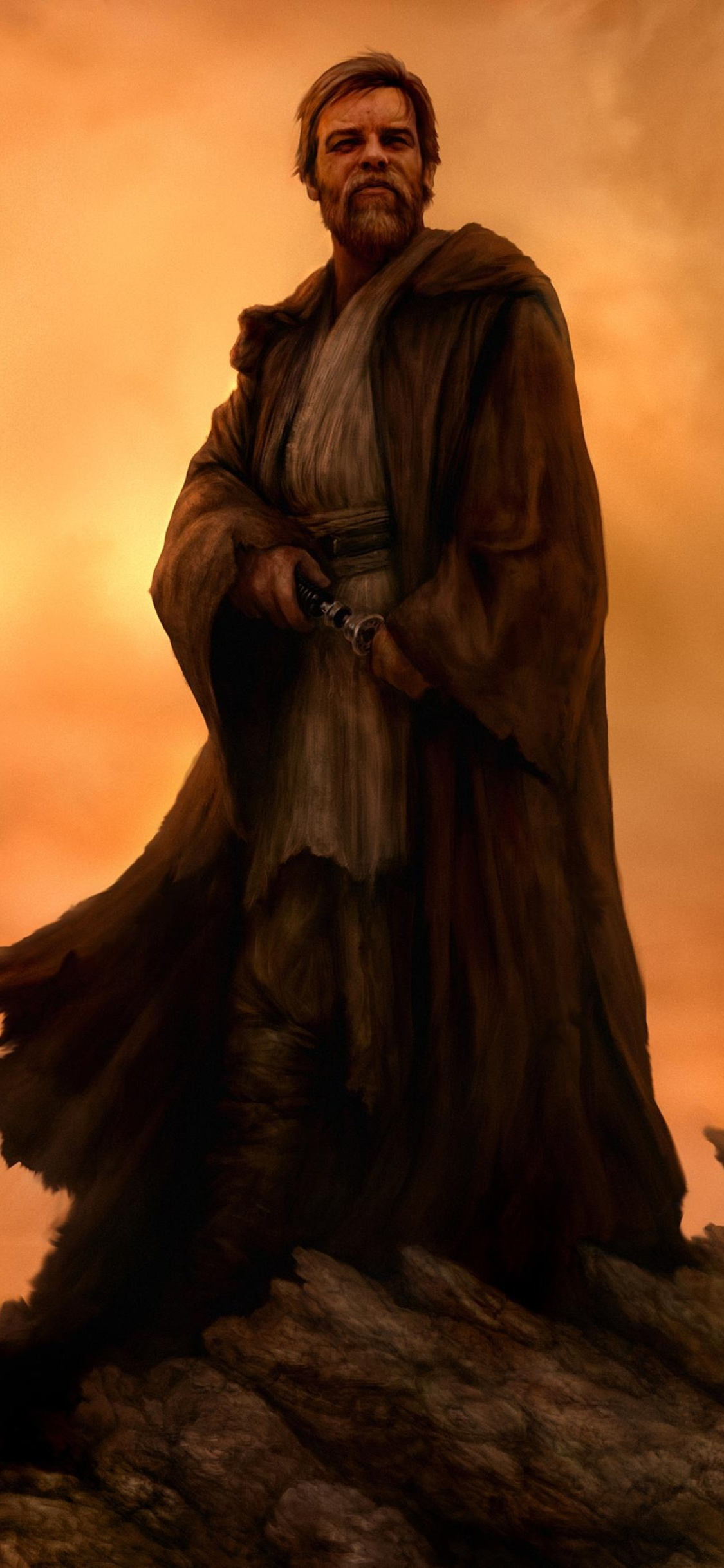 1125x2436 Obi Wan Kenobi Star Wars 4k Iphone Xs Iphone 10 Iphone X