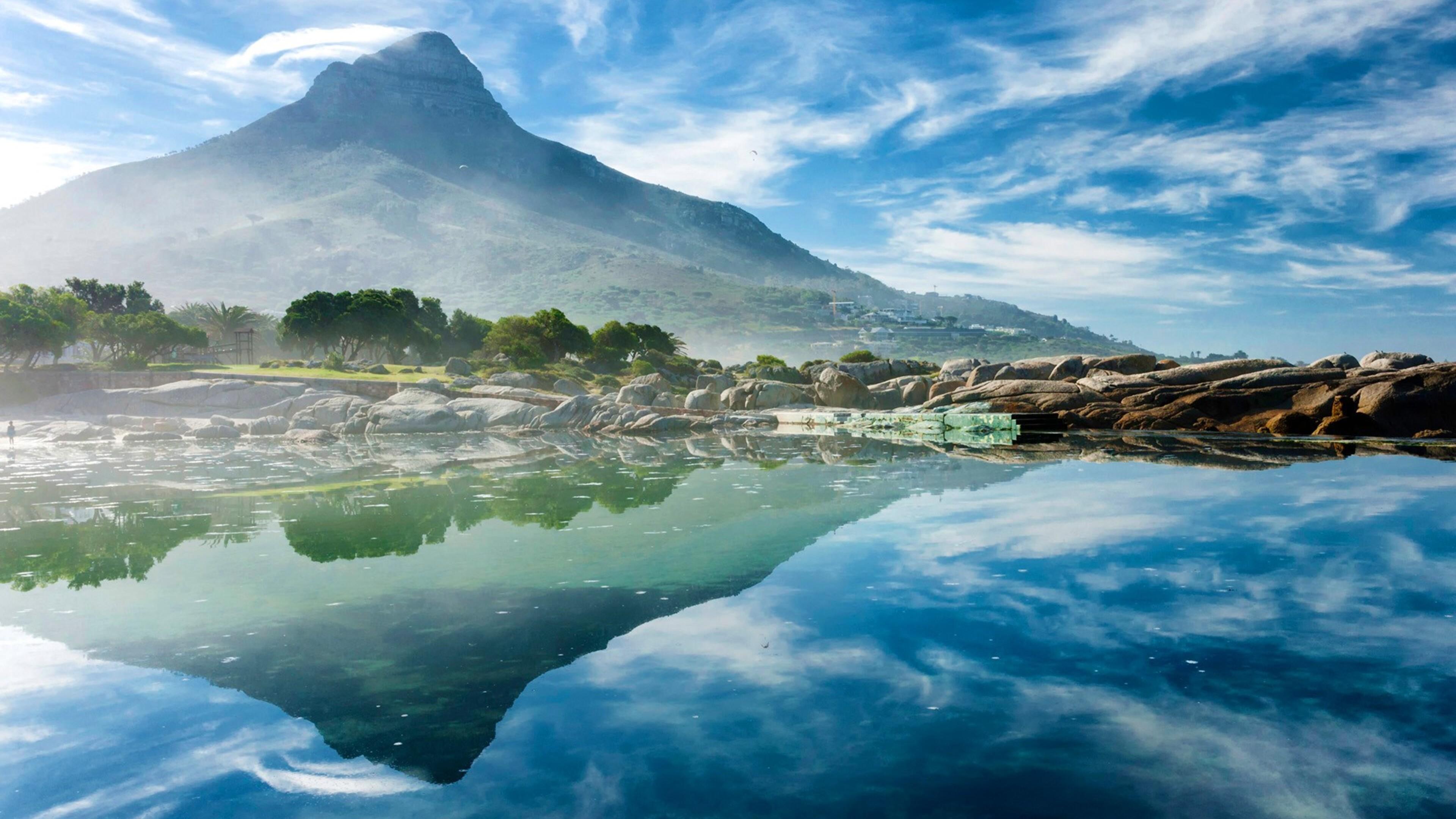 3840x2160 Ocean Reflection 4k HD 4k Wallpapers, Images ...