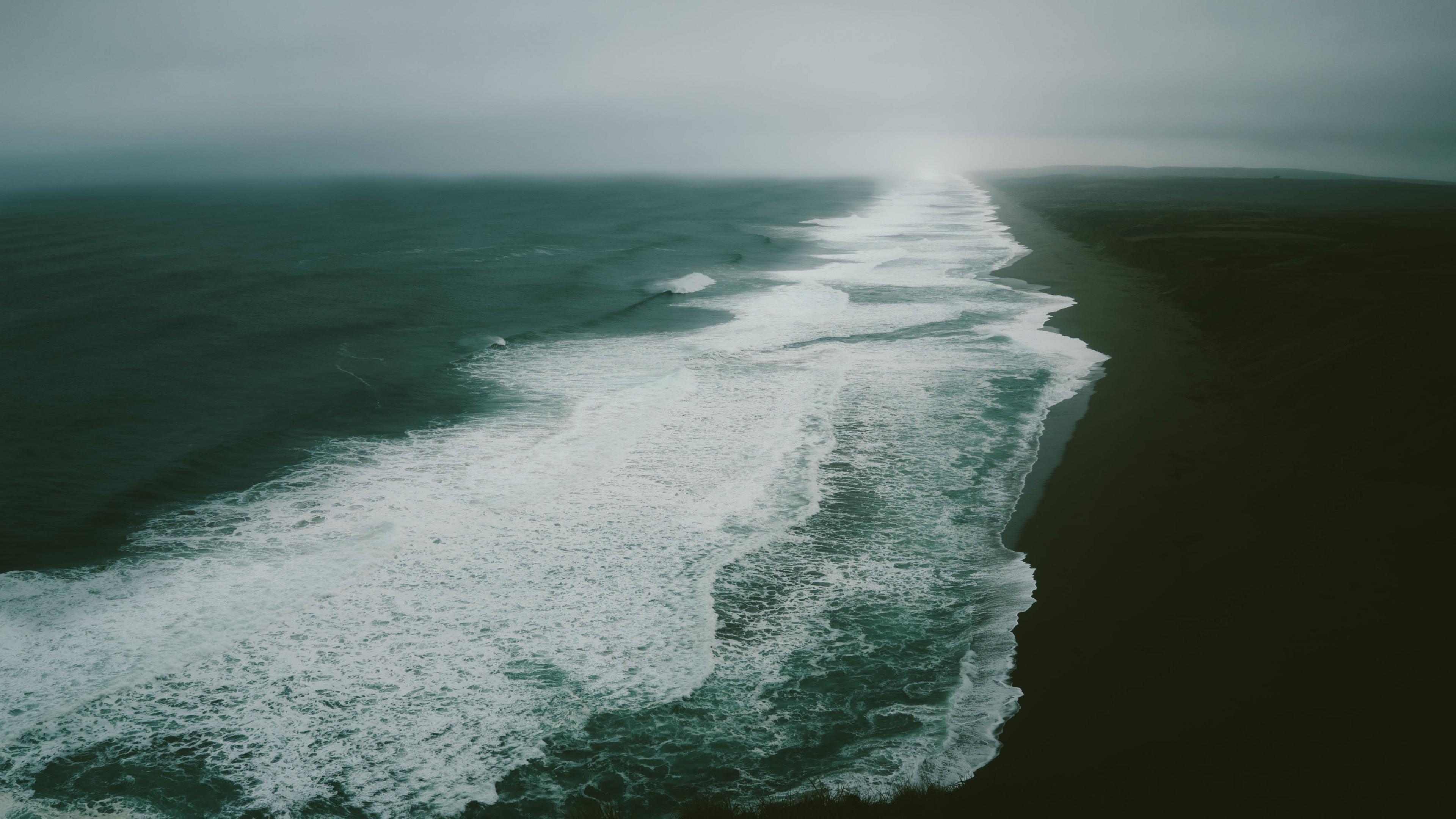 3840x2160 Ocean Sea Beach 4k HD 4k Wallpapers, Images ...