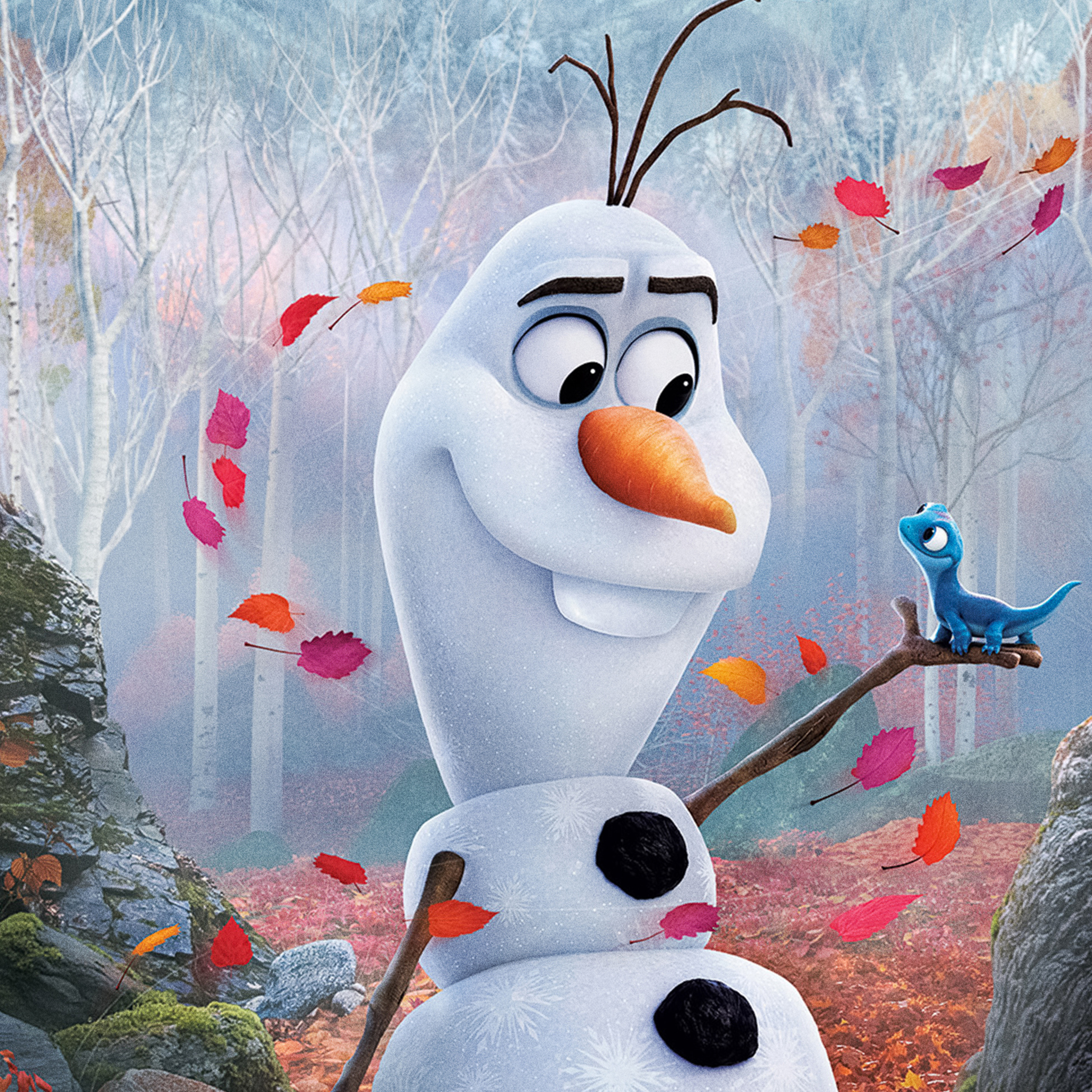 2048x2048 Olaf In Frozen 2 2019 Ipad Air Hd 4k Wallpapers