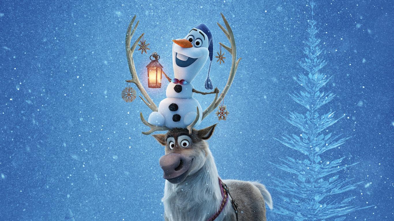 1366x768 olafs frozen adventure 4k 1366x768 resolution hd 4k wallpapers images backgrounds - Olaf s frozen adventure download ...