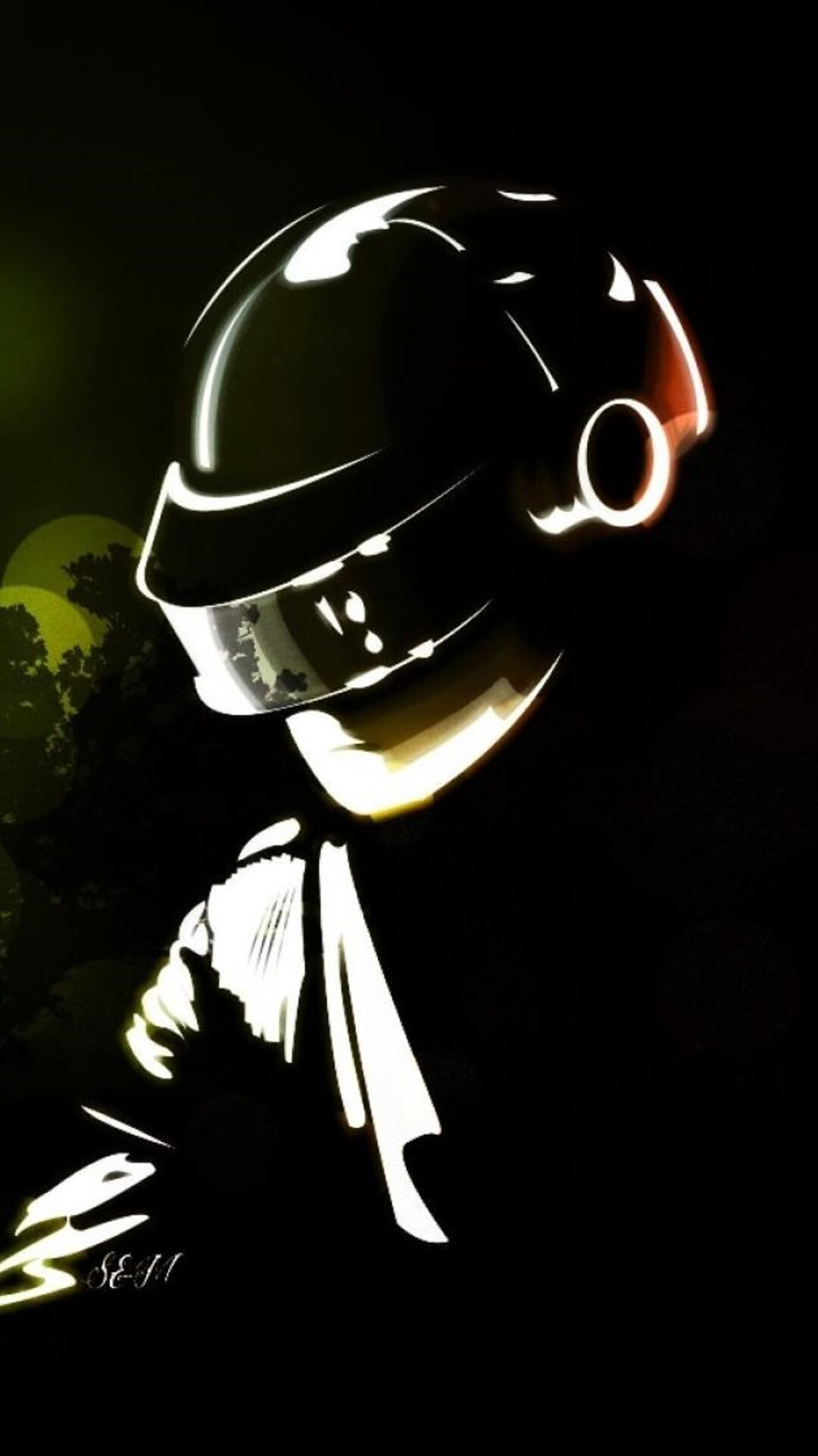 One More Time Daft Punk Qhd