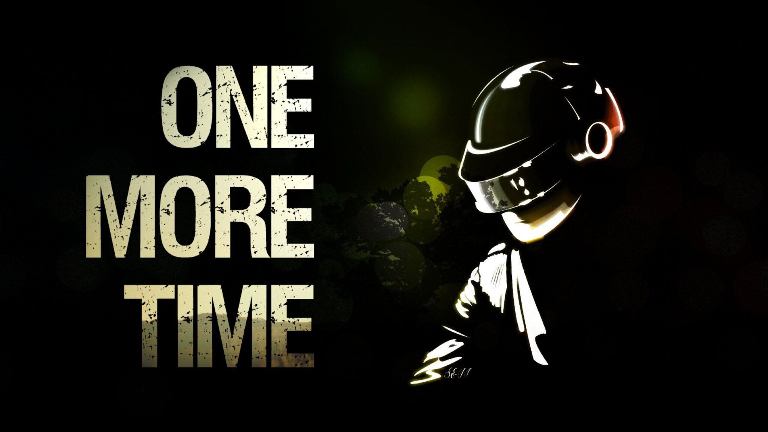 2560x1440 One More Time Daft Punk 1440P Resolution HD 4k ...