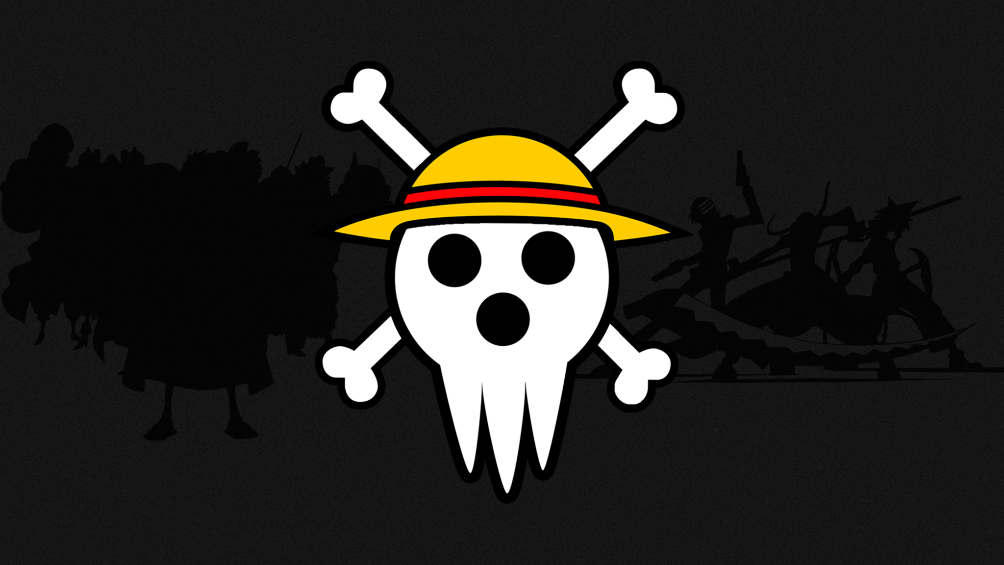 2048x1152 One Piece Anime Art Logo 2048x1152 Resolution HD ...