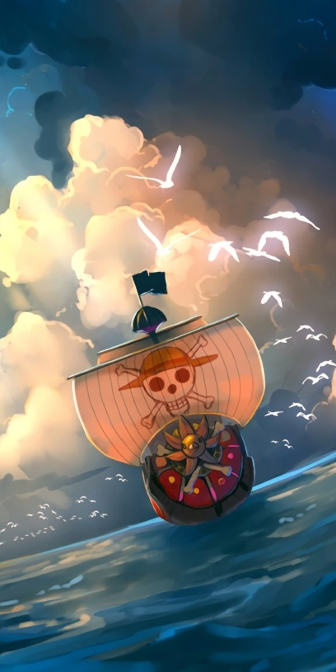 1080x2160 One Piece Anime Artwork One Plus 5thonor 7xhonor