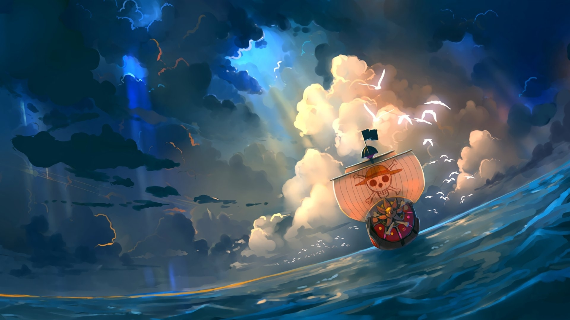 1920x1080 One Piece Anime Artwork Laptop Full HD 1080P HD ...