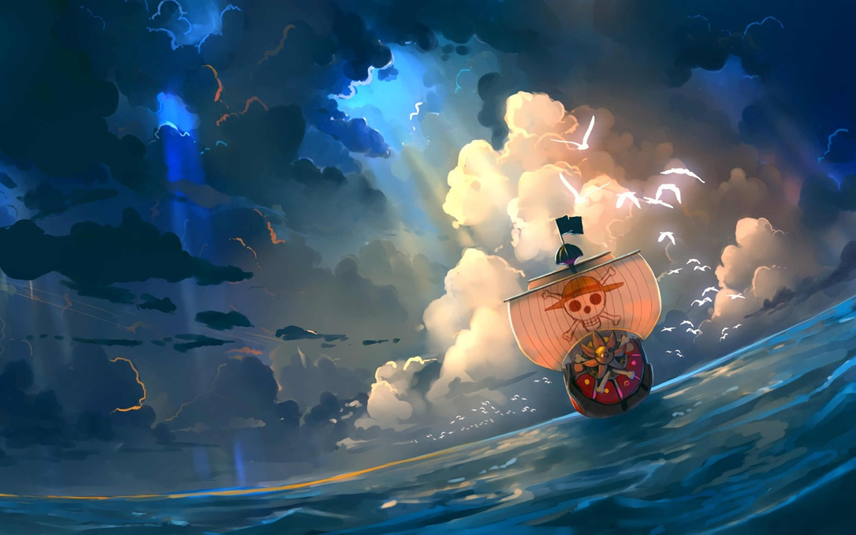 2880x1800 One Piece Anime Artwork Macbook Pro Retina Hd 4k