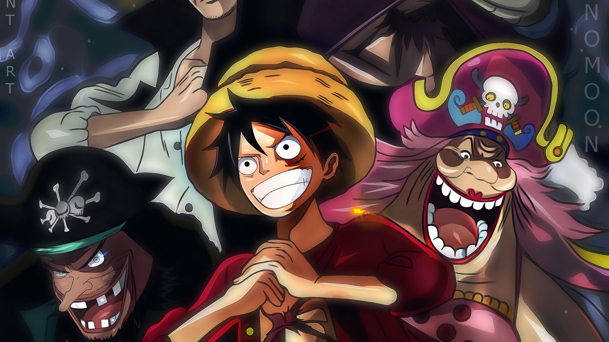 2560x1440 One Piece Charlotte Linlin Kaido Marshall D Teach