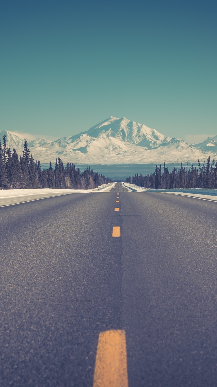Open Road To Mountains 4k 60