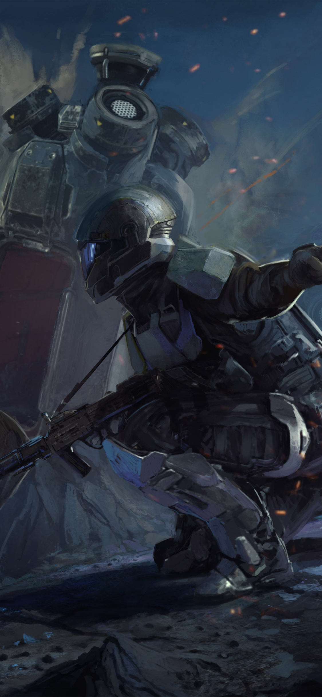 1125x2436 operation spearbreaker engagement halo wars 2 iphone xs