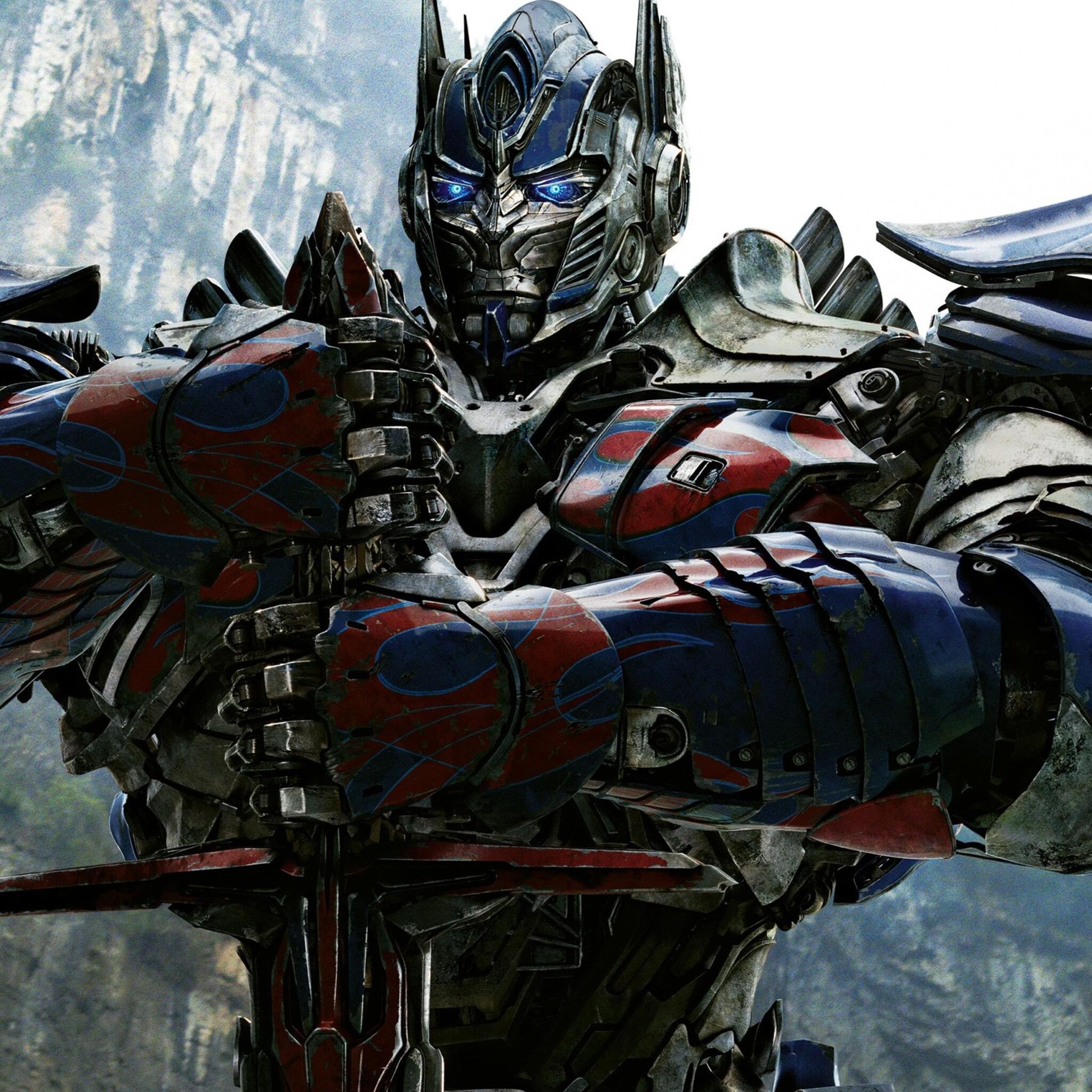 Optimus Prime Wallpaper Hd: 2048x2048 Optimus Prime In Transformers 4 Ipad Air HD 4k