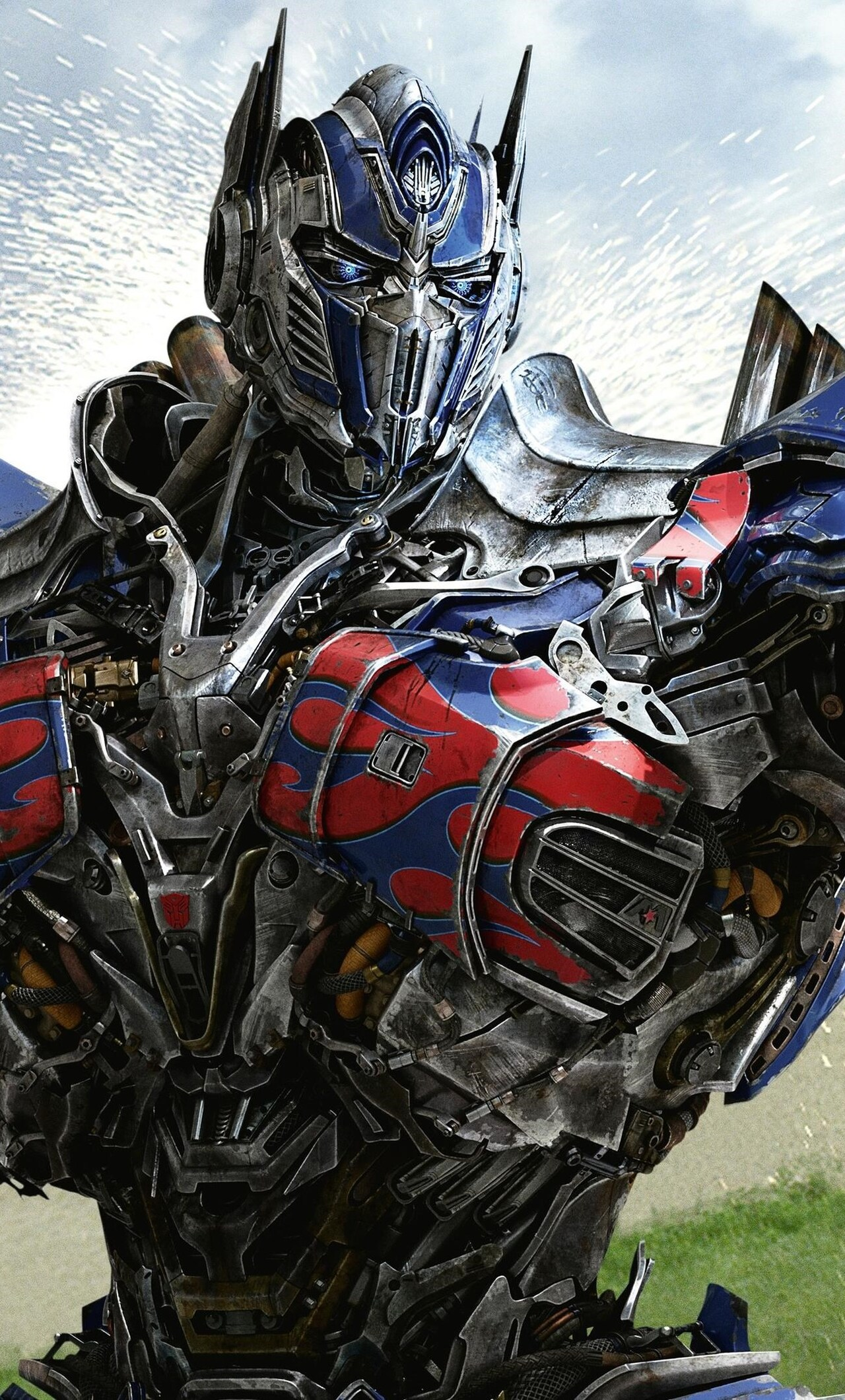1280x2120 optimus prime in transformers 4 age of