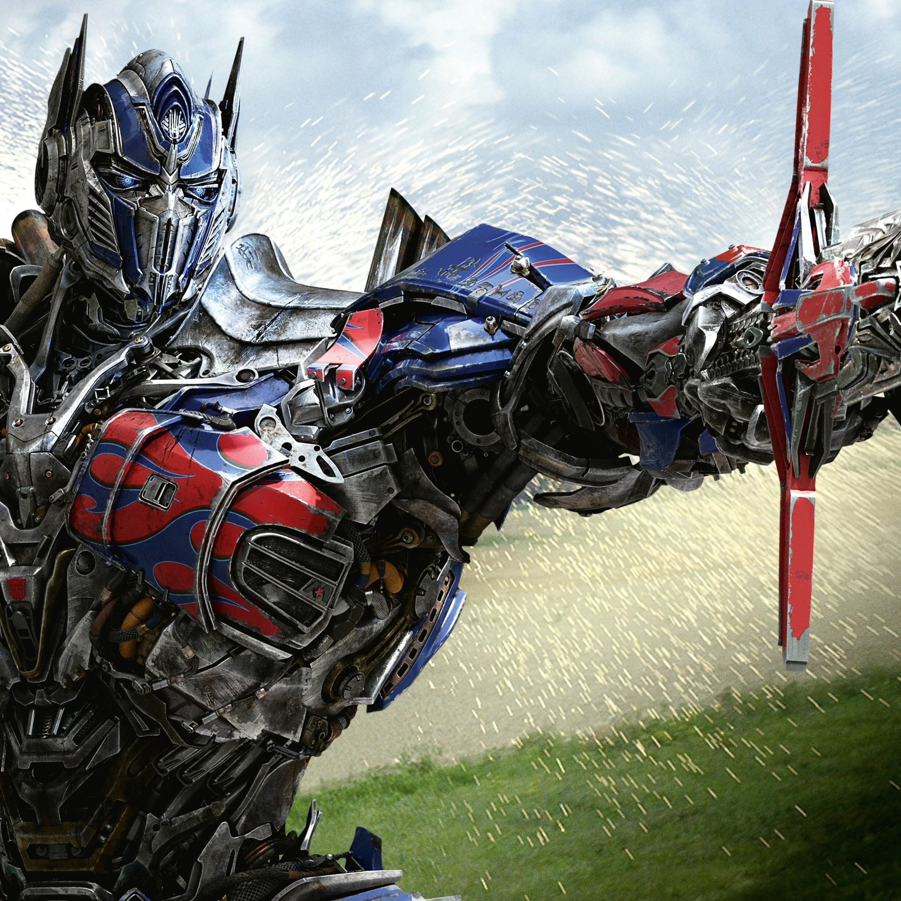 Optimus Prime Wallpaper Hd: 2932x2932 Optimus Prime In Transformers 4 Age Of