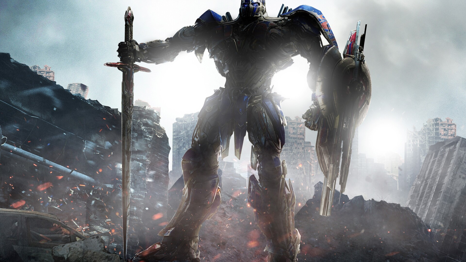 1920x1080 optimus prime transformers the last knight 4k