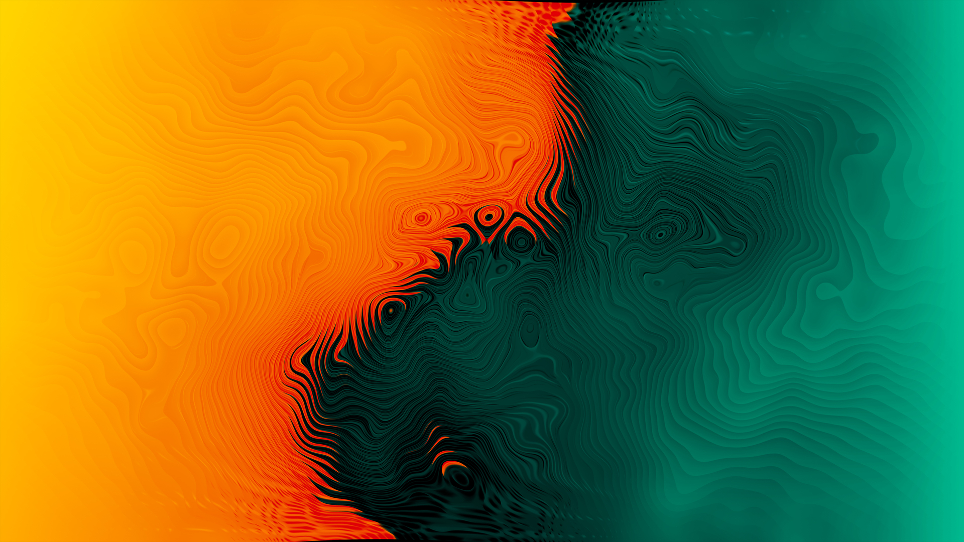 1920x1080 Orange Green Abstract 4k Laptop Full Hd 1080p Hd 4k Wallpapers Images Backgrounds Photos And Pictures