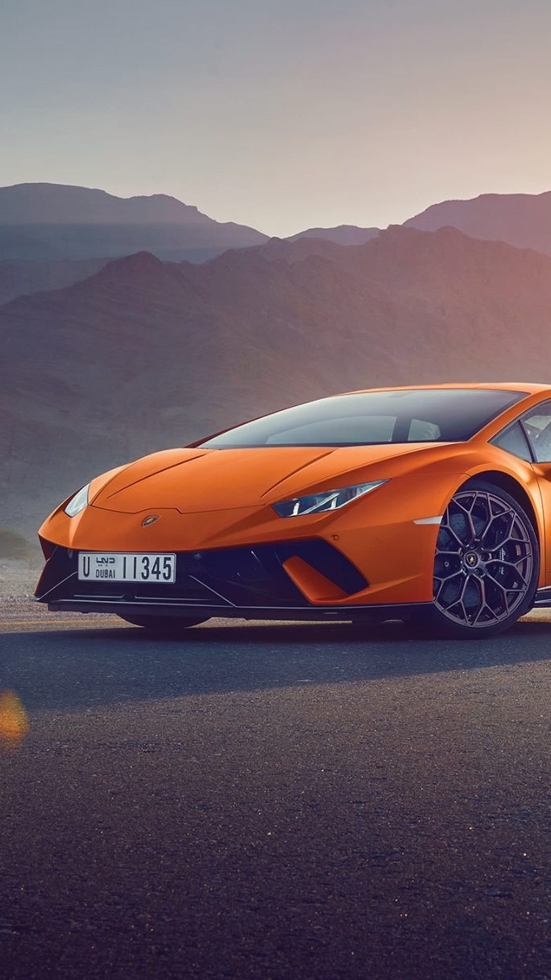 1080x1920 Orange Lamborghini Huracan Iphone 76s6 Plus