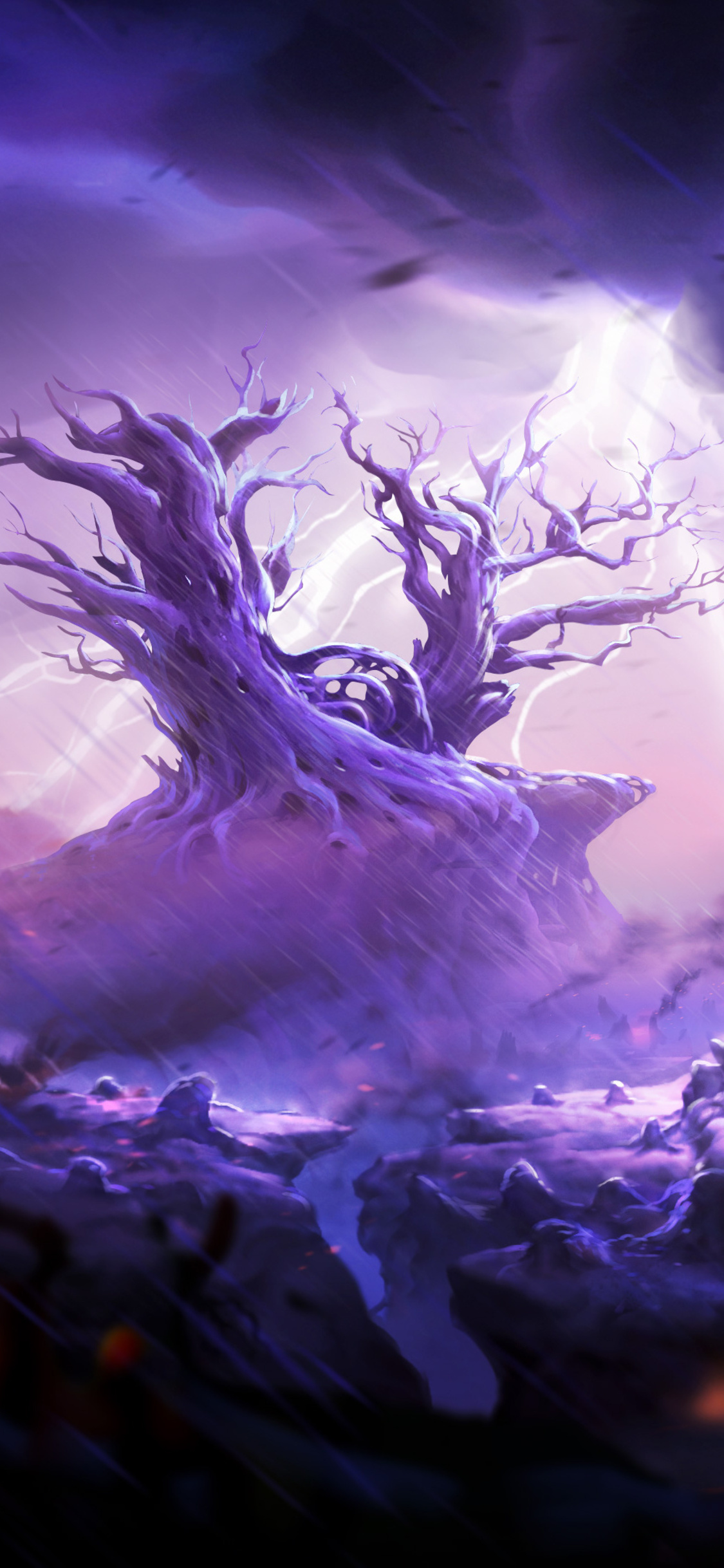 1125x2436 Ori And The Blind Forest Spirit Tree Iphone Xs Iphone 10