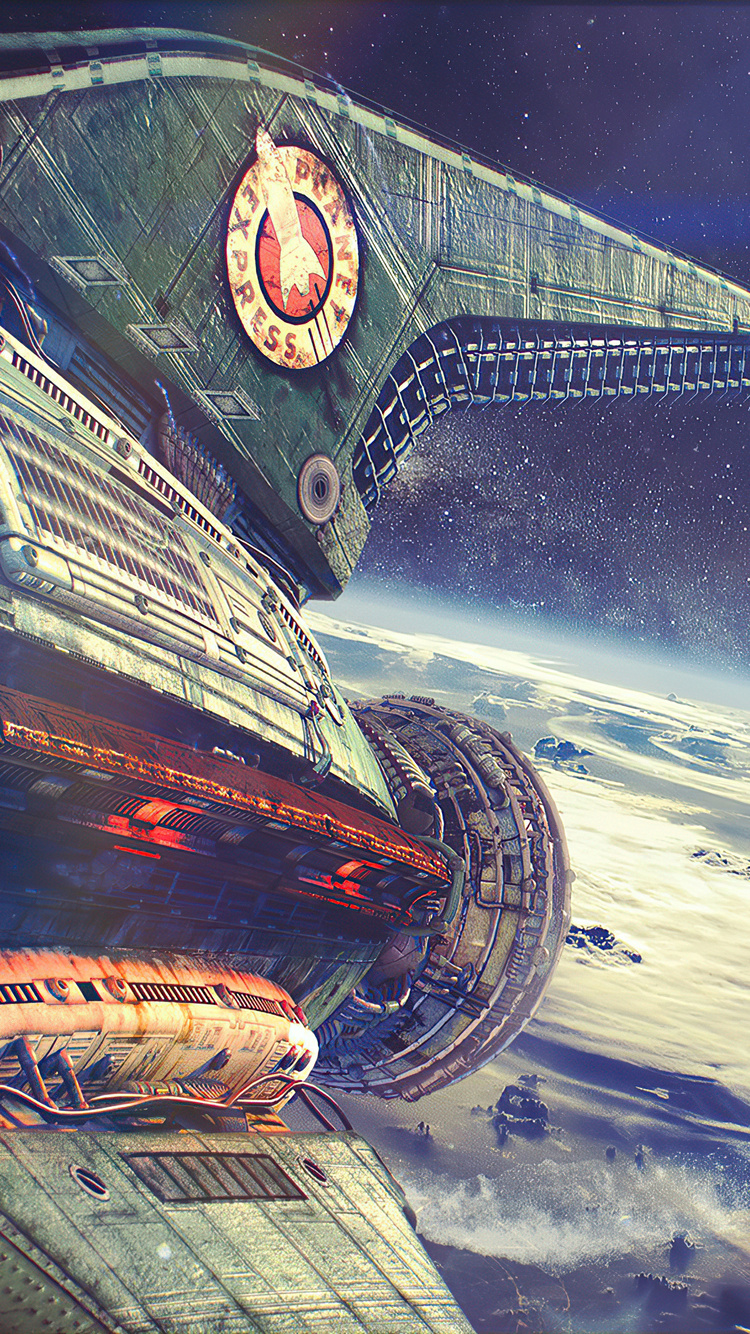750x1334 Outer Space Ship 4k iPhone 6, iPhone 6S, iPhone 7 ...