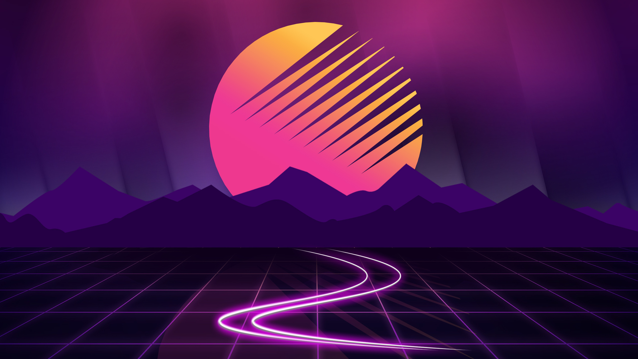 2048x1152 Outrun 2048x1152 Resolution Hd 4k Wallpapers Images Backgrounds Photos And Pictures