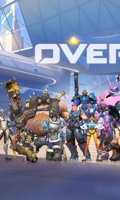240x400 Overwatch Game All Heroes Acer E100 Huawei Galaxy S Duos Lg