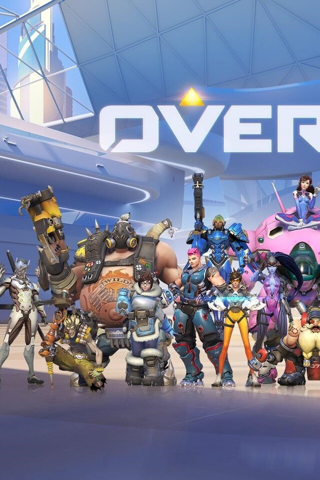 640x960 Overwatch Game All Heroes Iphone 4 Iphone 4s Hd 4k