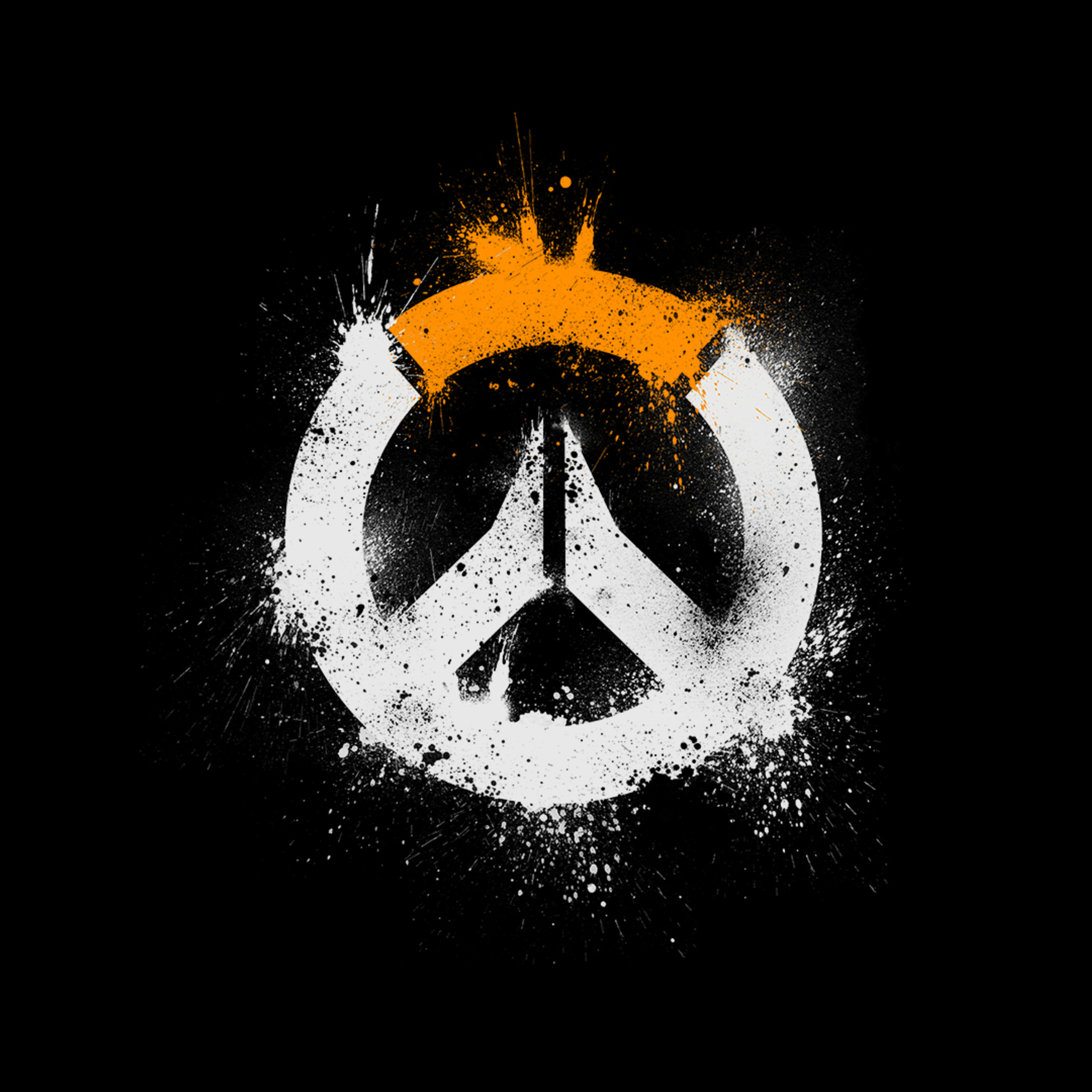 Hd 1600x900 Wallpaper: 2048x2048 Overwatch Logo HD Ipad Air HD 4k Wallpapers