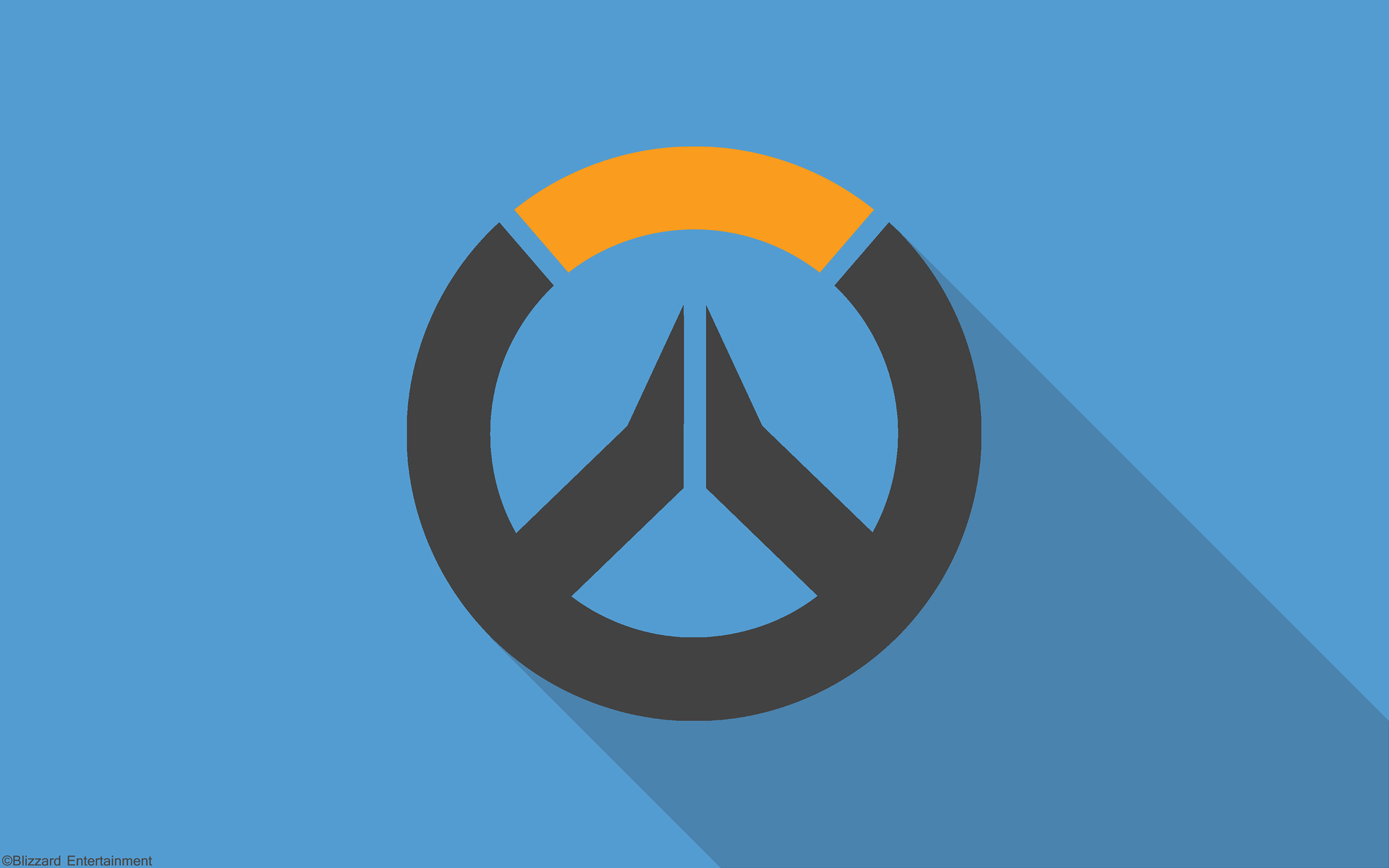 1920x1200 overwatch material design logo 1080p resolution for Material design wallpaper 4k