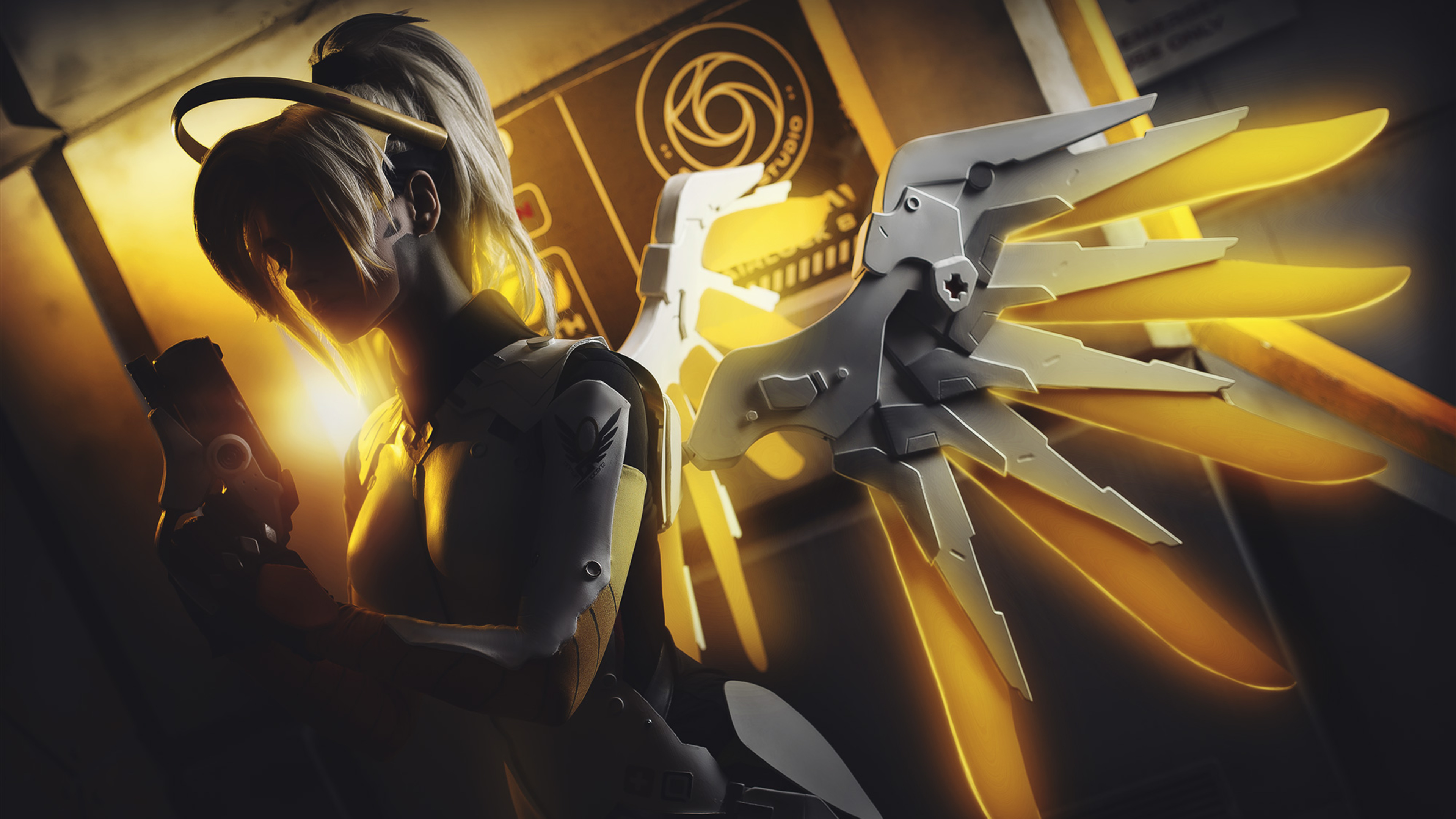 3840x2160 Overwatch Mercy Artwork 4k HD 4k Wallpapers ...
