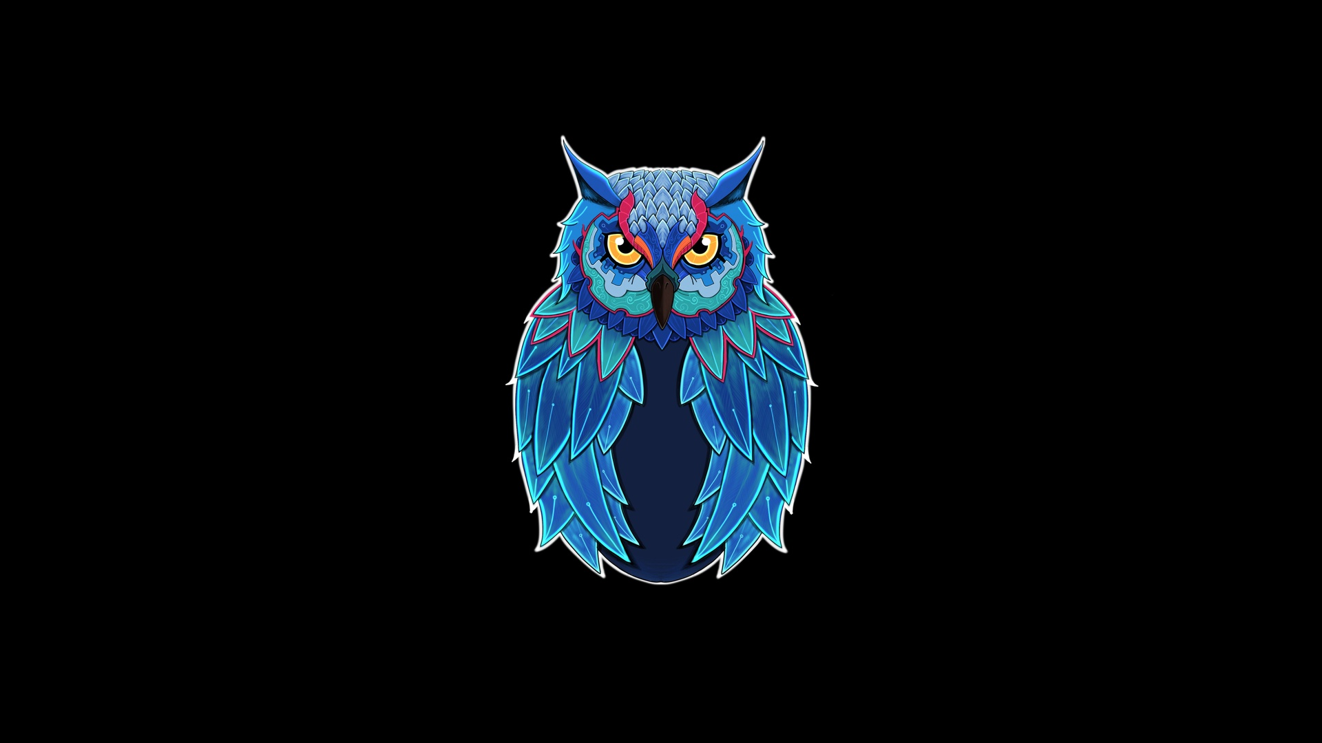 1920x1080 Owl Dark 5k Laptop Full Hd 1080p Hd 4k Wallpapers Images Backgrounds Photos And Pictures