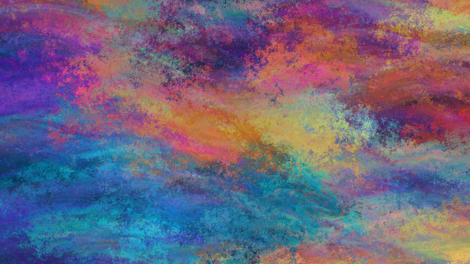 1920x1080 Painting Colorful Abstract 4k Laptop Full HD ...