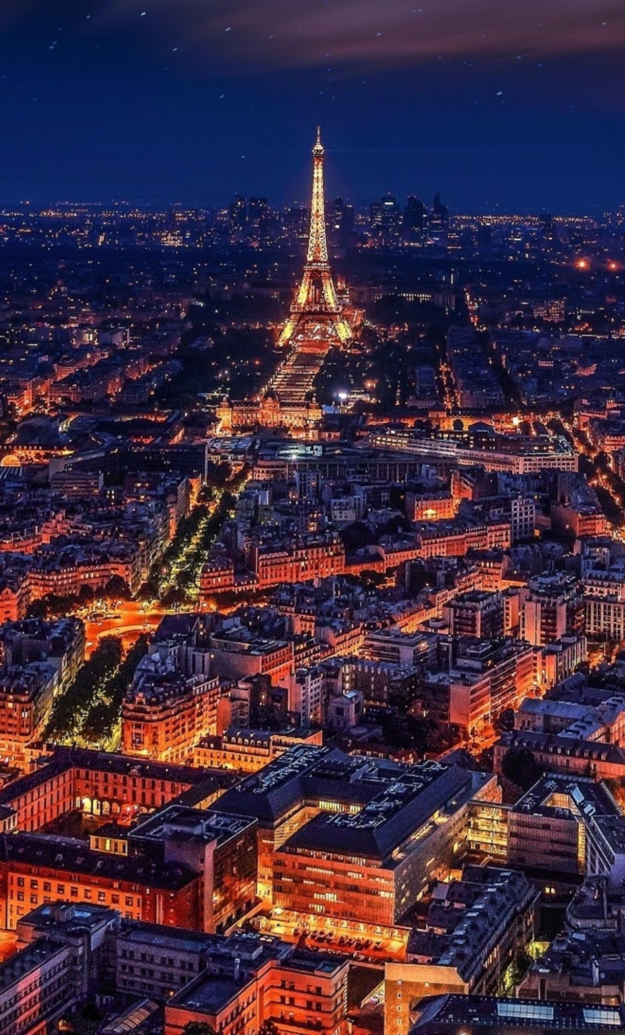 1280x2120 Paris France Eiffel Tower Night Iphone 6 Hd 4k Wallpapers
