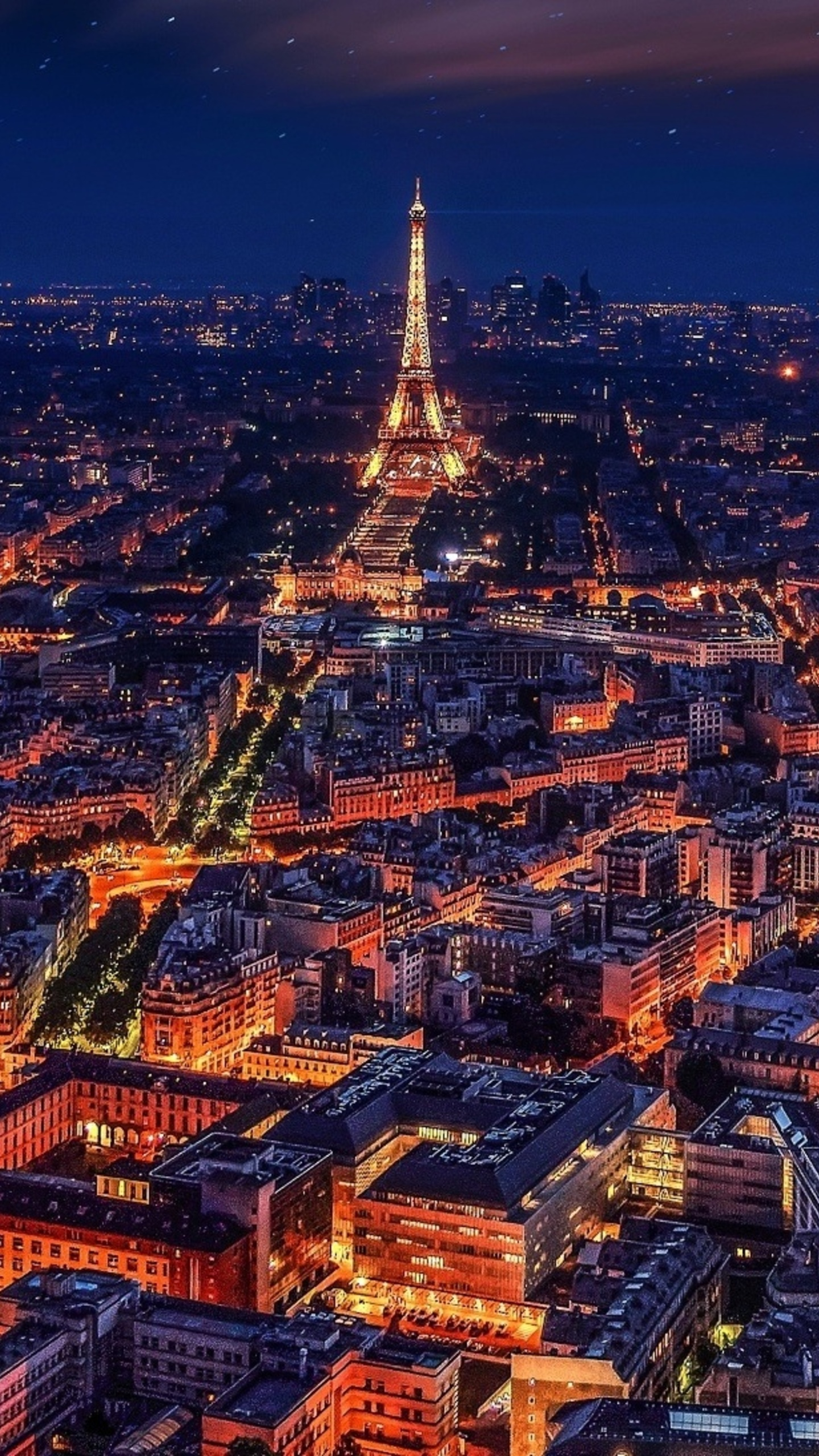 1440x2560 paris france eiffel tower night samsung galaxy s6,s7