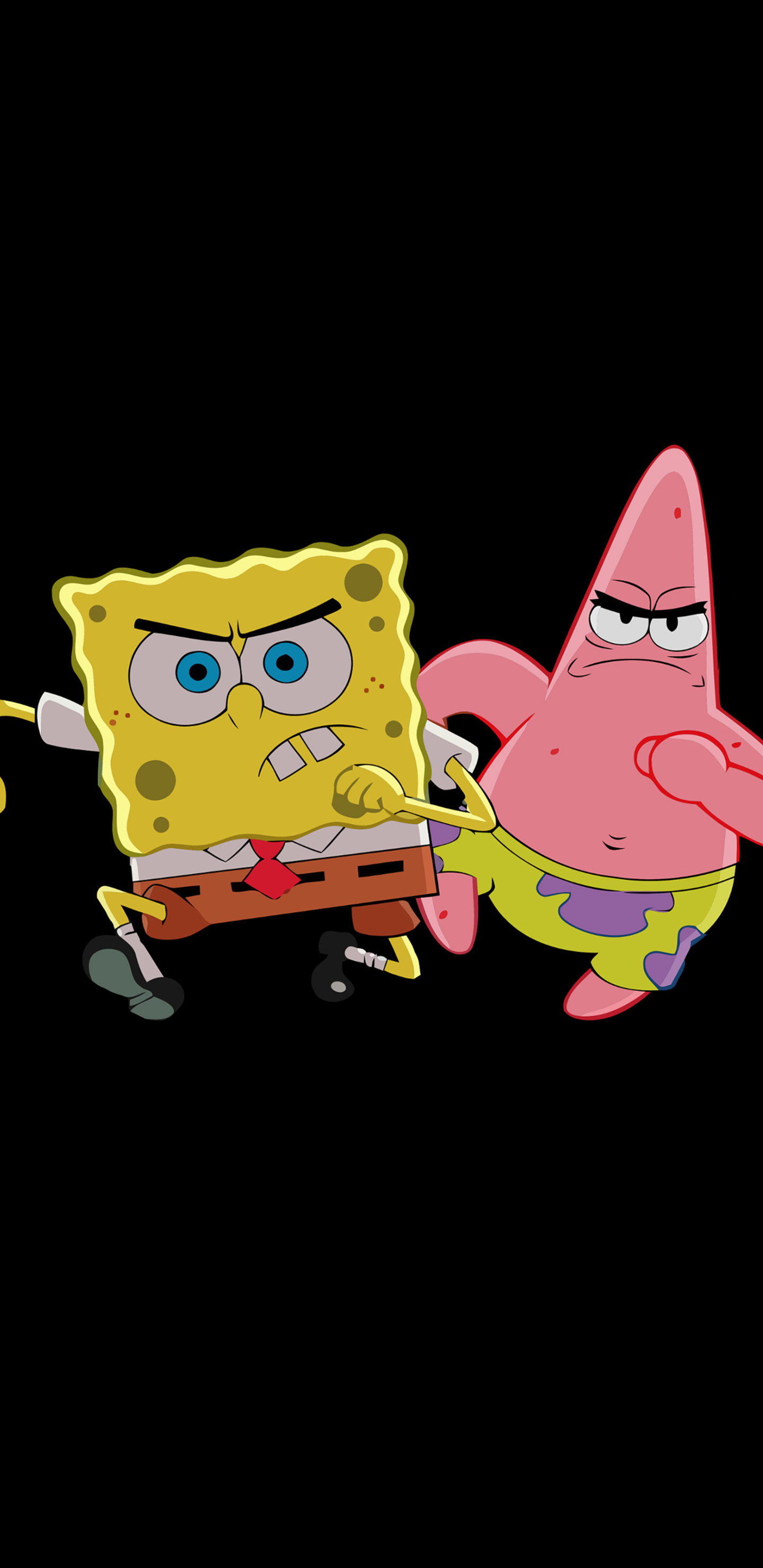 1440x2960 Patrick Star And Spongebob Samsung Galaxy Note 98