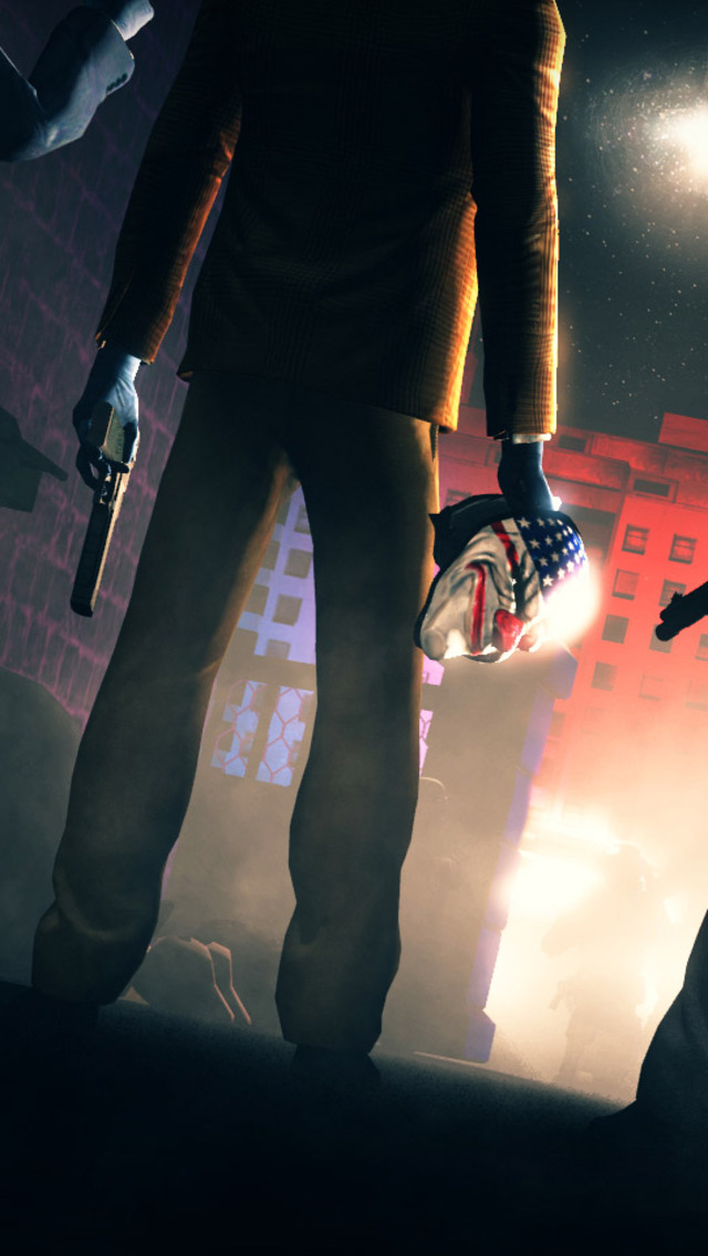 640x1136 Payday 2 Artwork Iphone 55c5sse Ipod Touch Hd 4k