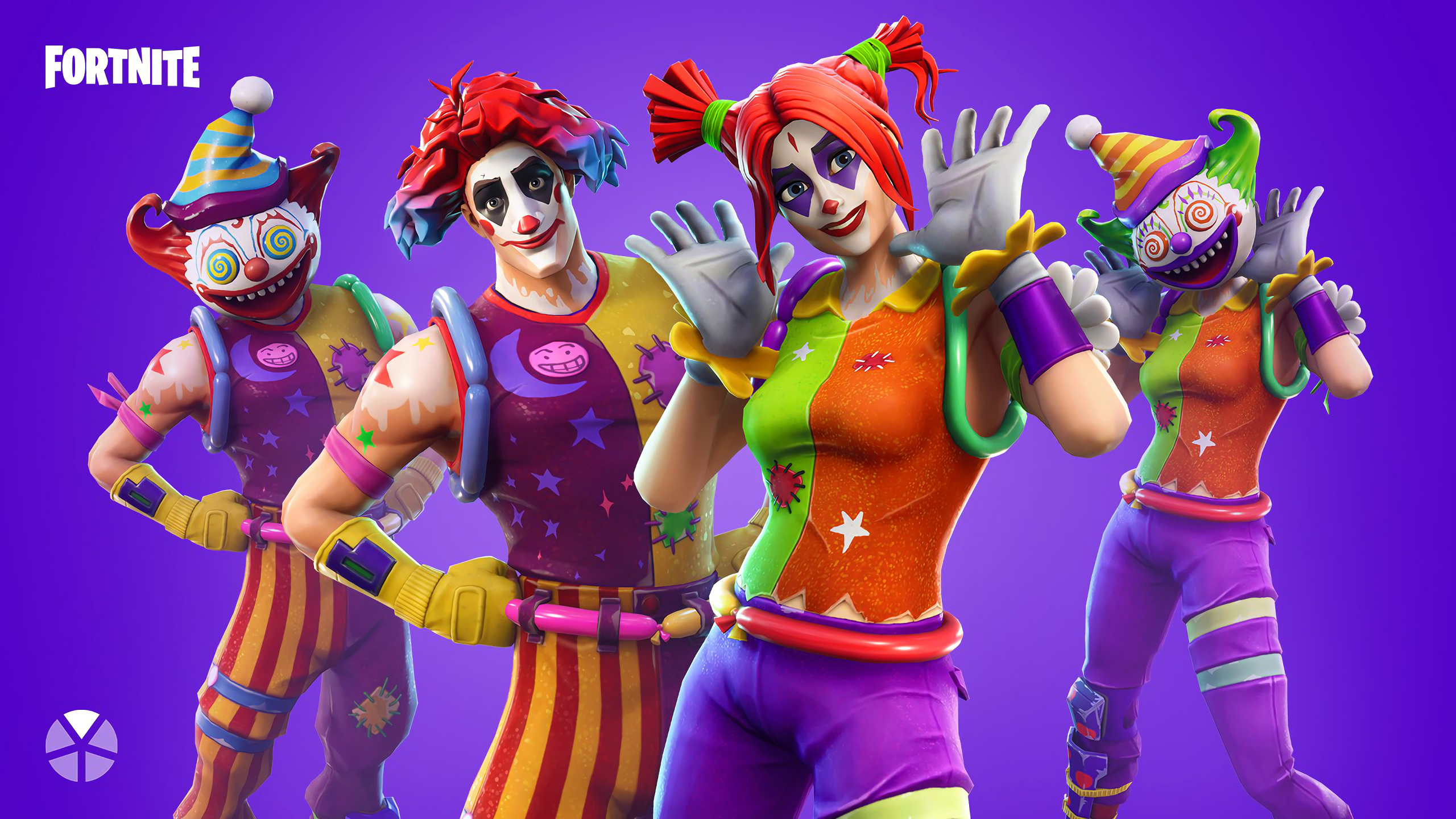 2560x1440 Peekaboo And Nite Fortnite Battle Royale Outfit 4k