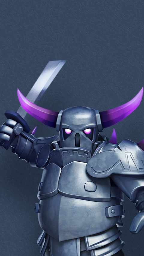480x854 Pekka Clash Of Clans Android One Hd 4k Wallpapers Images