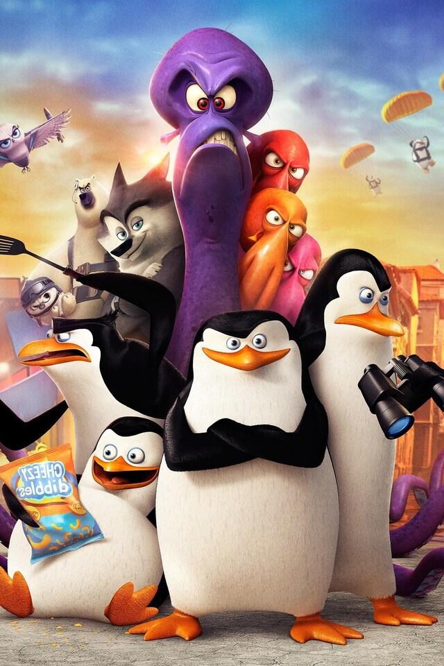 640x960 Penguins Of Madagascar Movie iPhone 4, iPhone 4S HD 4k