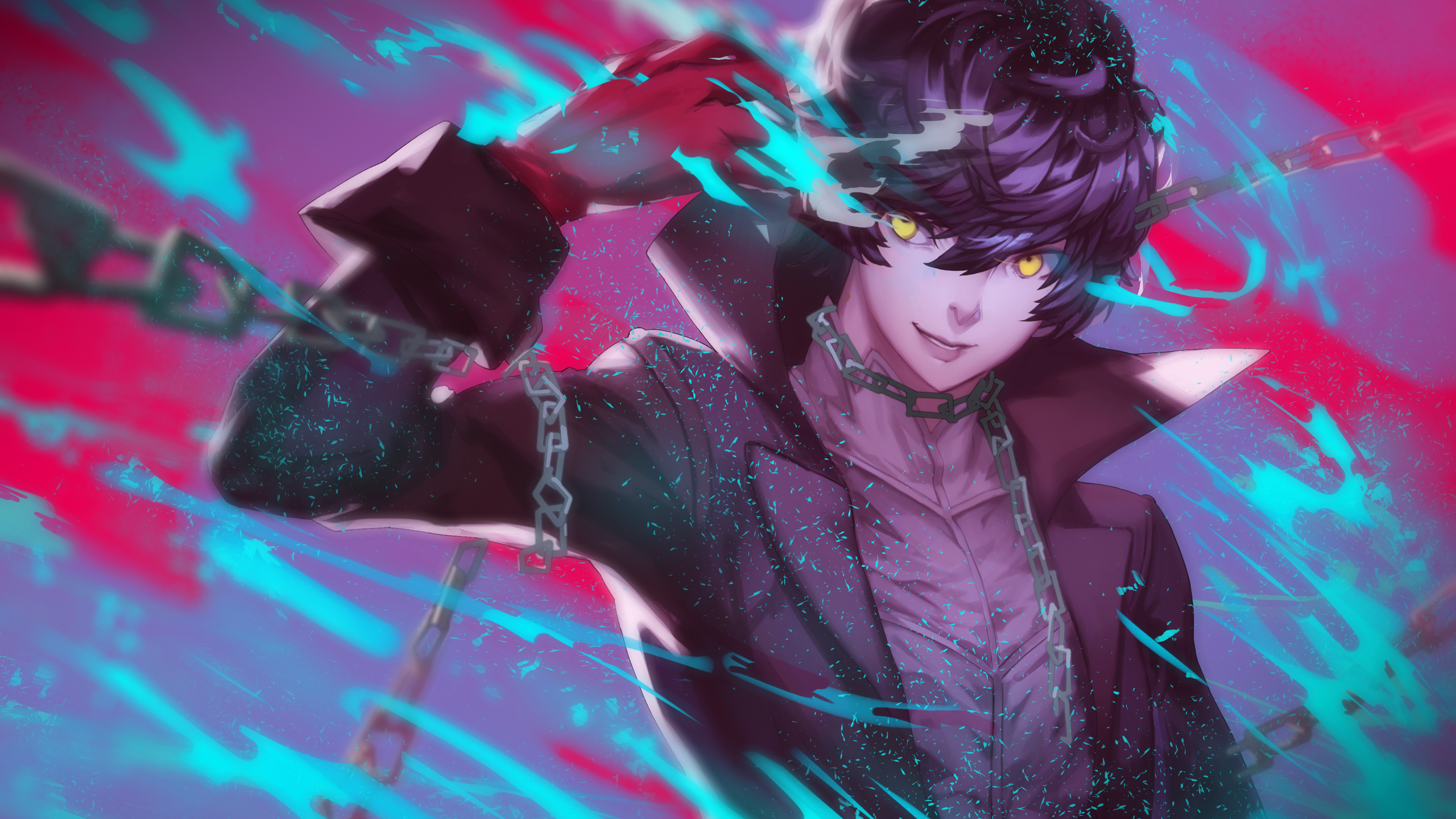 2560x1440 Persona 5 Amamiya Ren 1440p Resolution Hd 4k Wallpapers Images Backgrounds Photos And Pictures