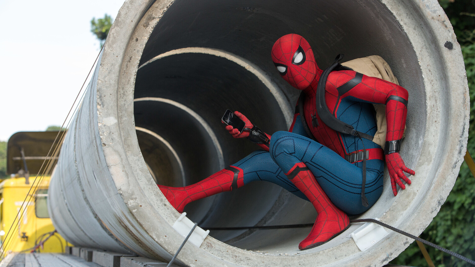 Image result for spiderman homecoming 1920x1080