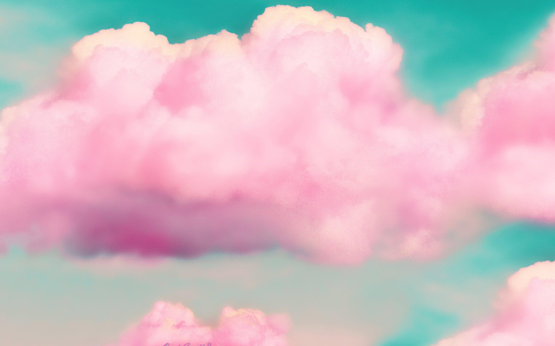2880x1800 Pink Clouds 3d Macbook Pro ...