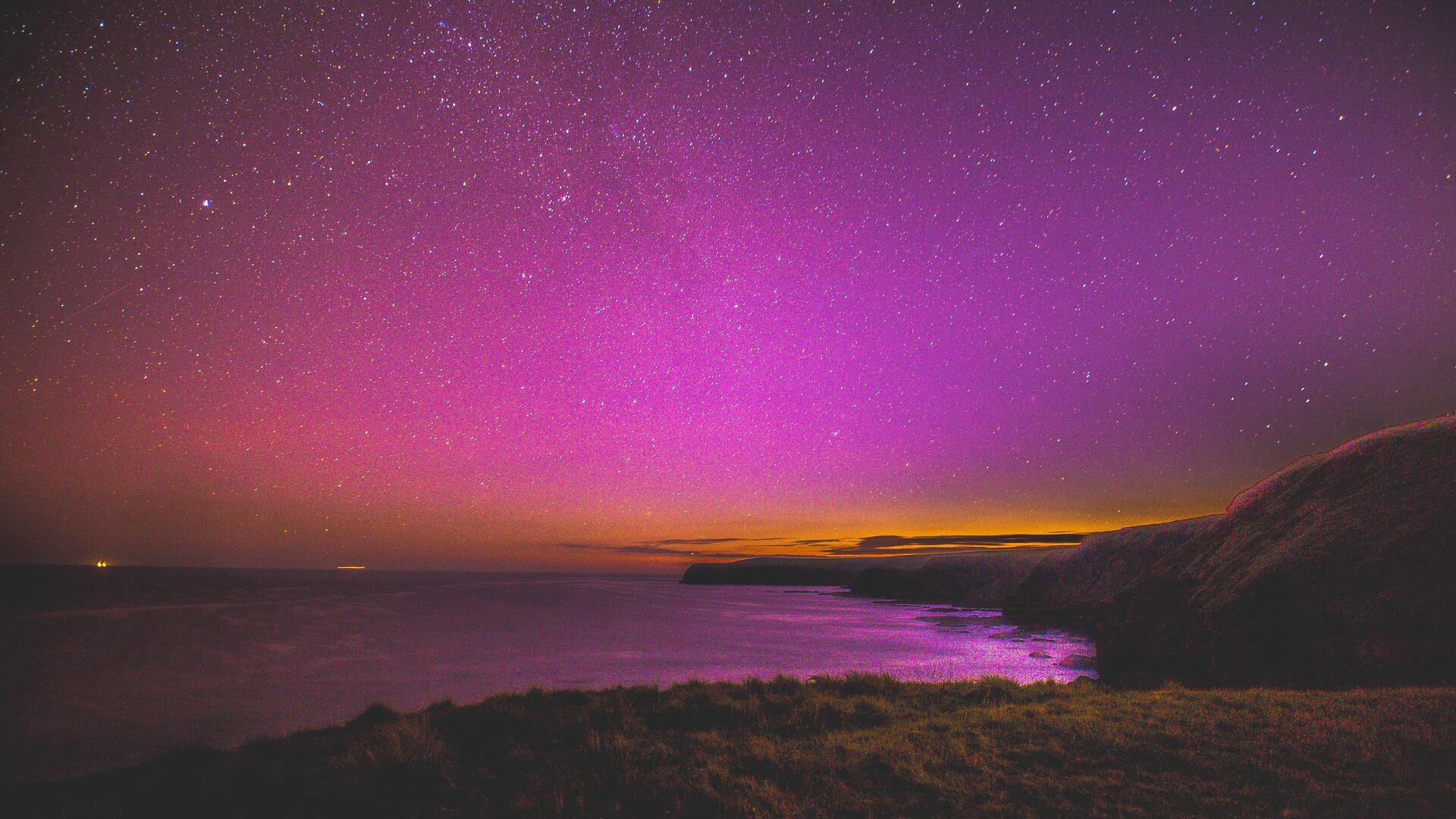 1920x1080 Pink Sky Full Of Stars Horizon Laptop Full Hd 1080p Hd