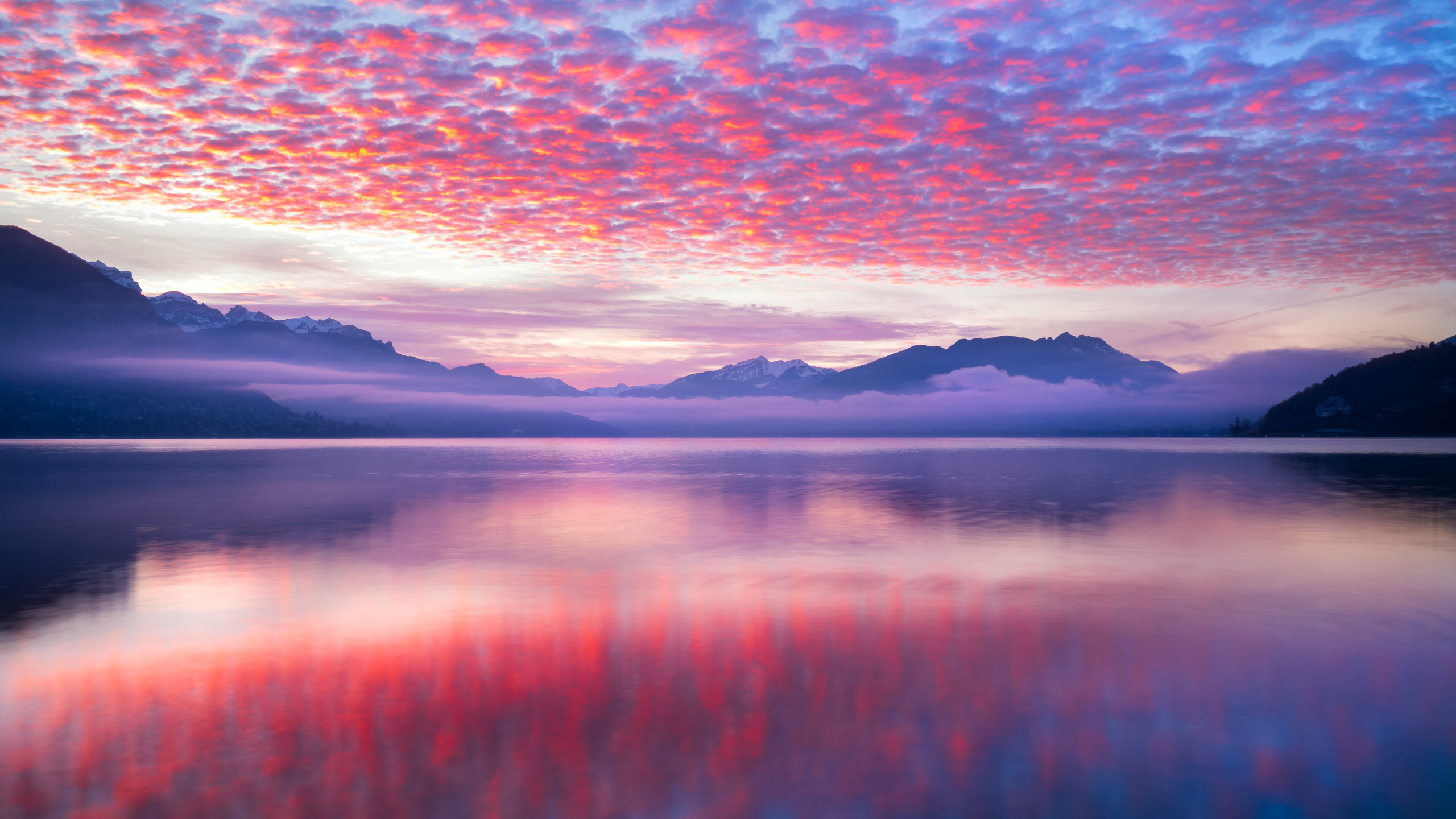 2560x1440 Pink Waves Nature Landscape 5k 1440p Resolution Hd 4k Wallpapers Images Backgrounds Photos And Pictures