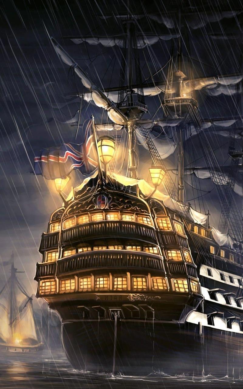 Pirates Of The Caribbean Ship Artwork 6b