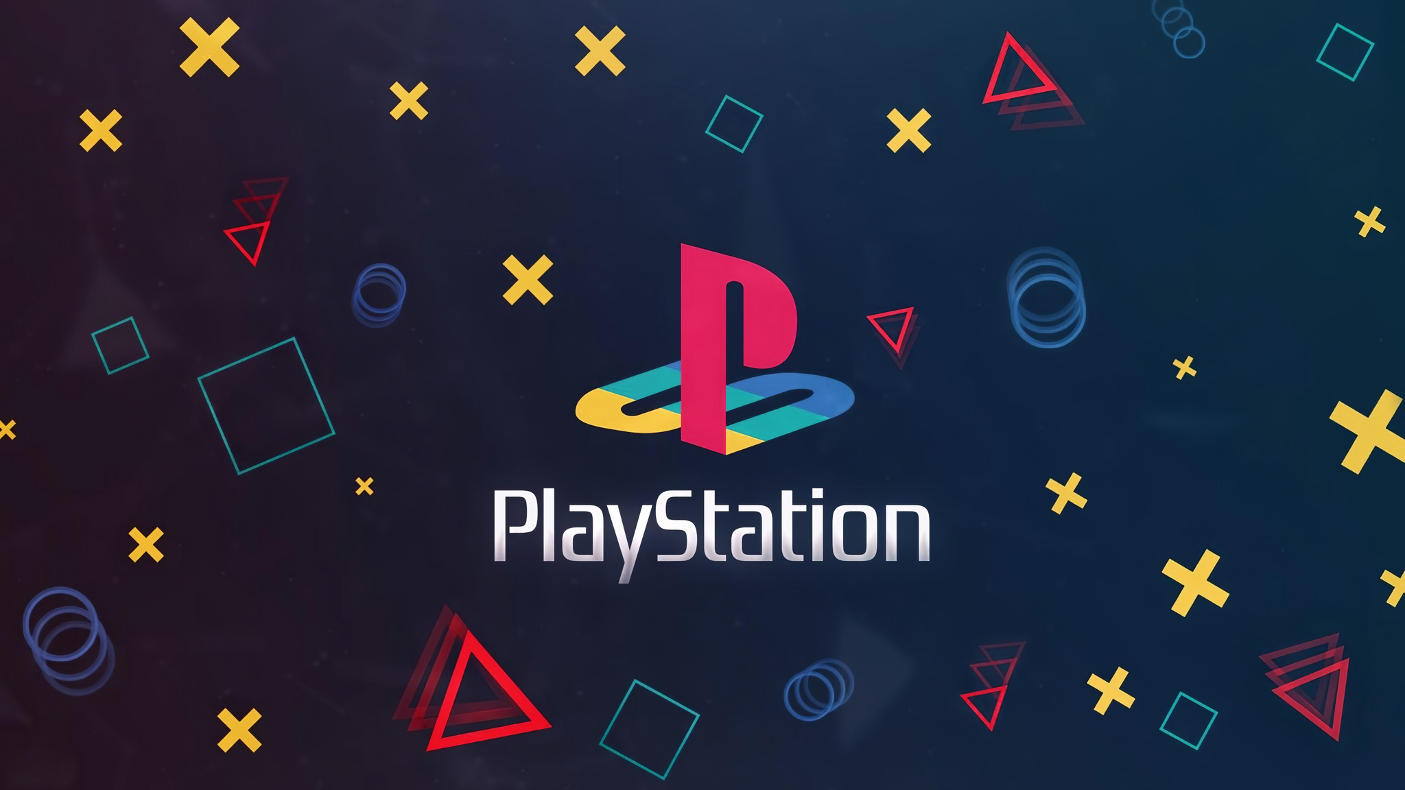 2048x1152 Playstation Logo Background 4k 2048x1152 Resolution Hd 4k Wallpapers Images Backgrounds Photos And Pictures
