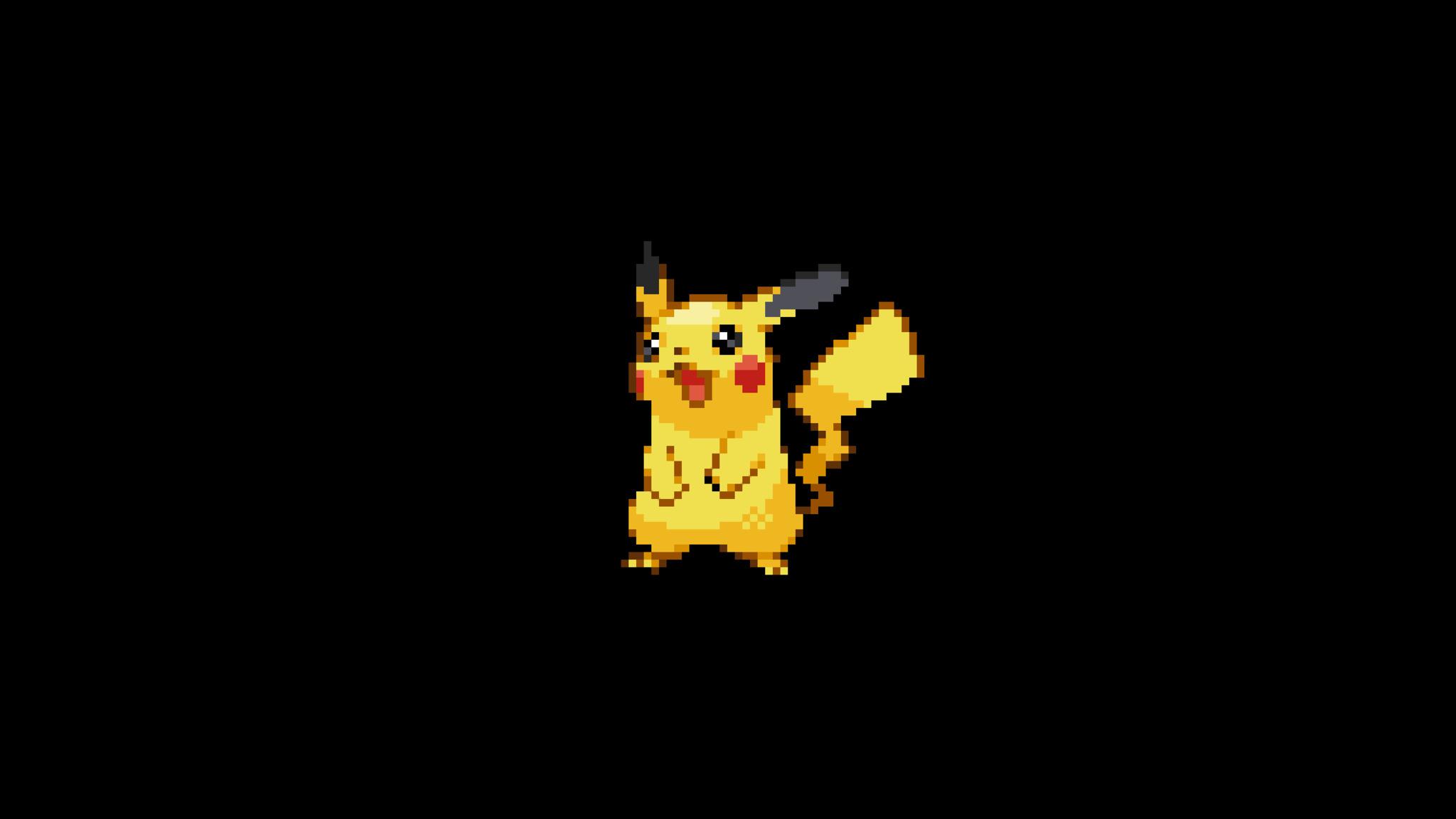 Pokemon Pictures That Are 2048 By 1152 Pixels: 2048x1152 Pokemon 8 Bit Minimalism 2048x1152 Resolution HD