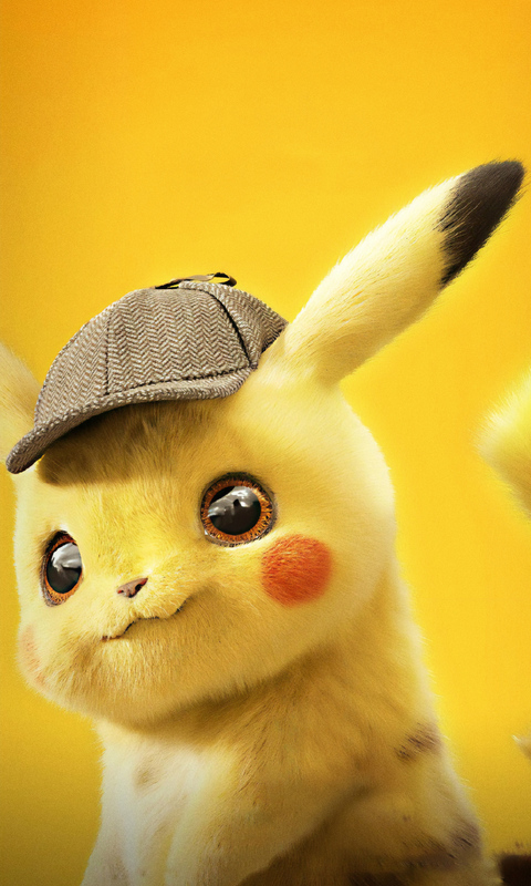 480x800 Pokemon Detective Pikachu 4k 2019 Galaxy Note,HTC ...