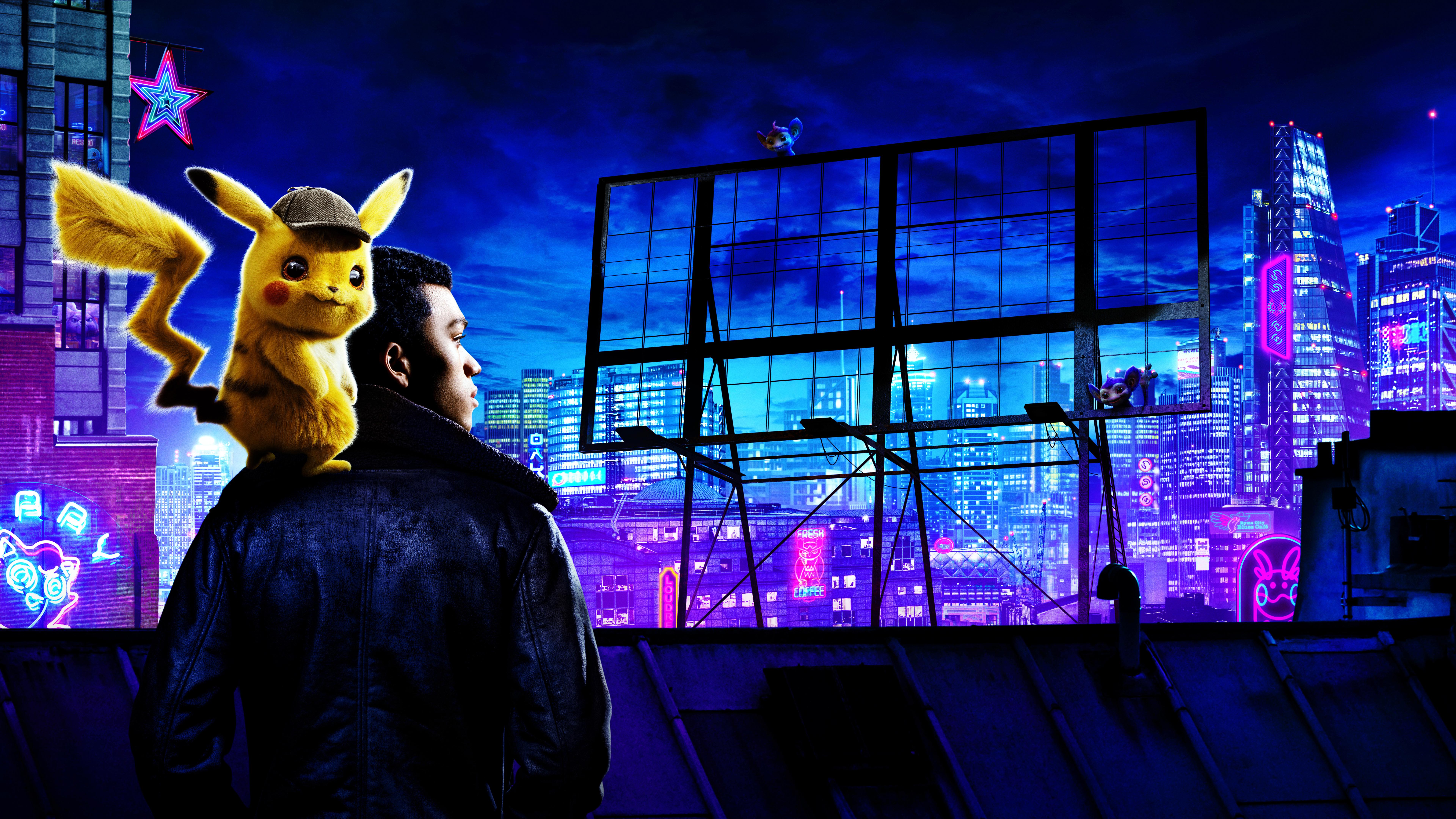 Pokemon Detective Pikachu Movie Wallpaper