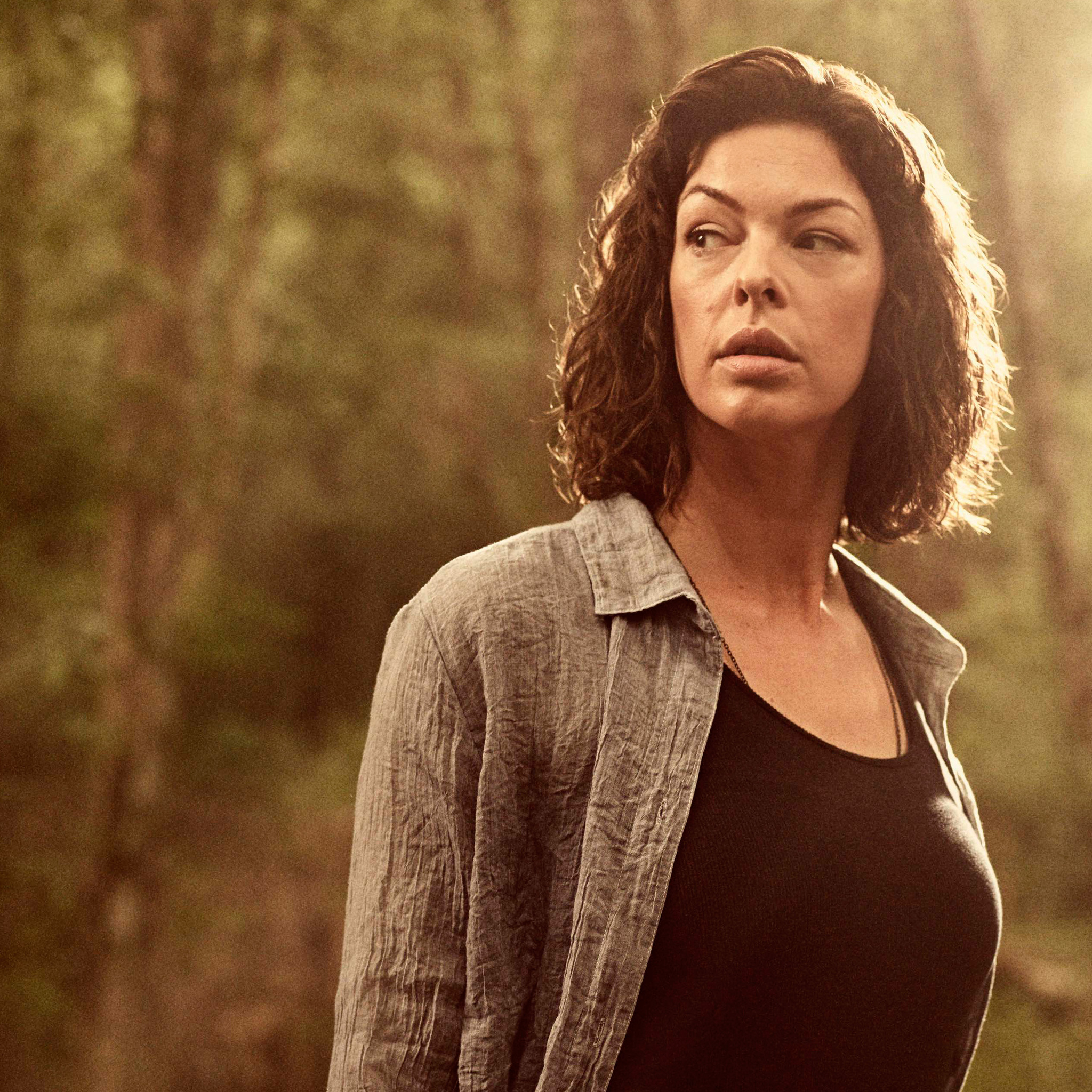 2048x2048 Pollyanna Mcintosh As Anne The Walking Dead Season 9